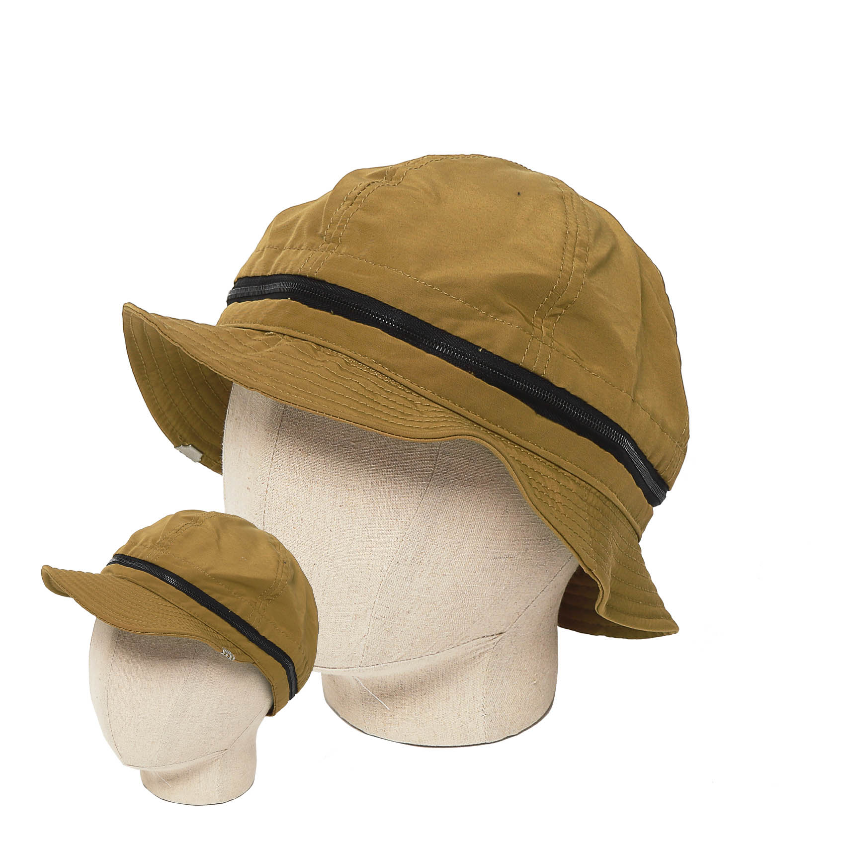 BUILD UP PARTS CAP & HAT - CAMEL