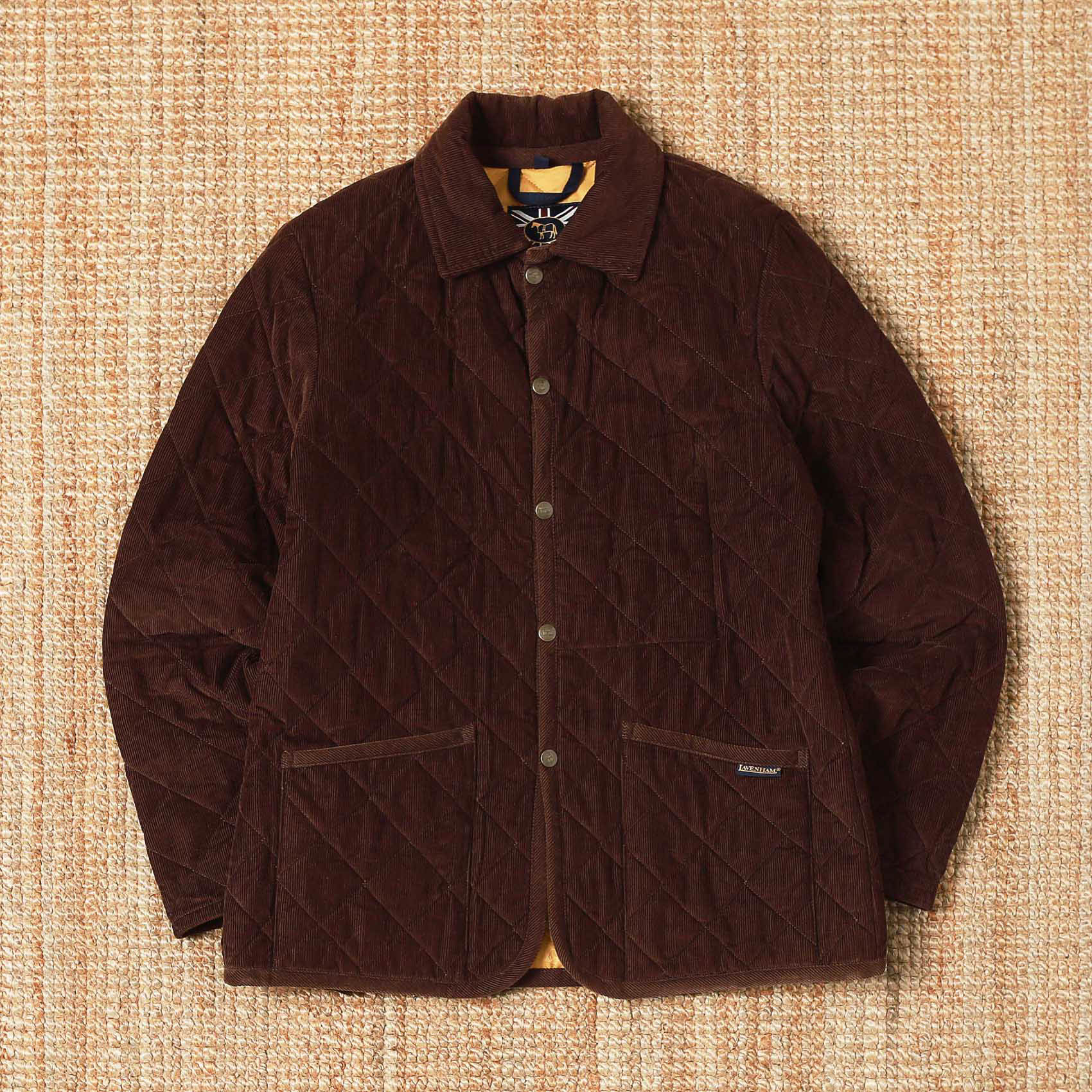 LAVENHAM CORDUROY QUILTED JACKET