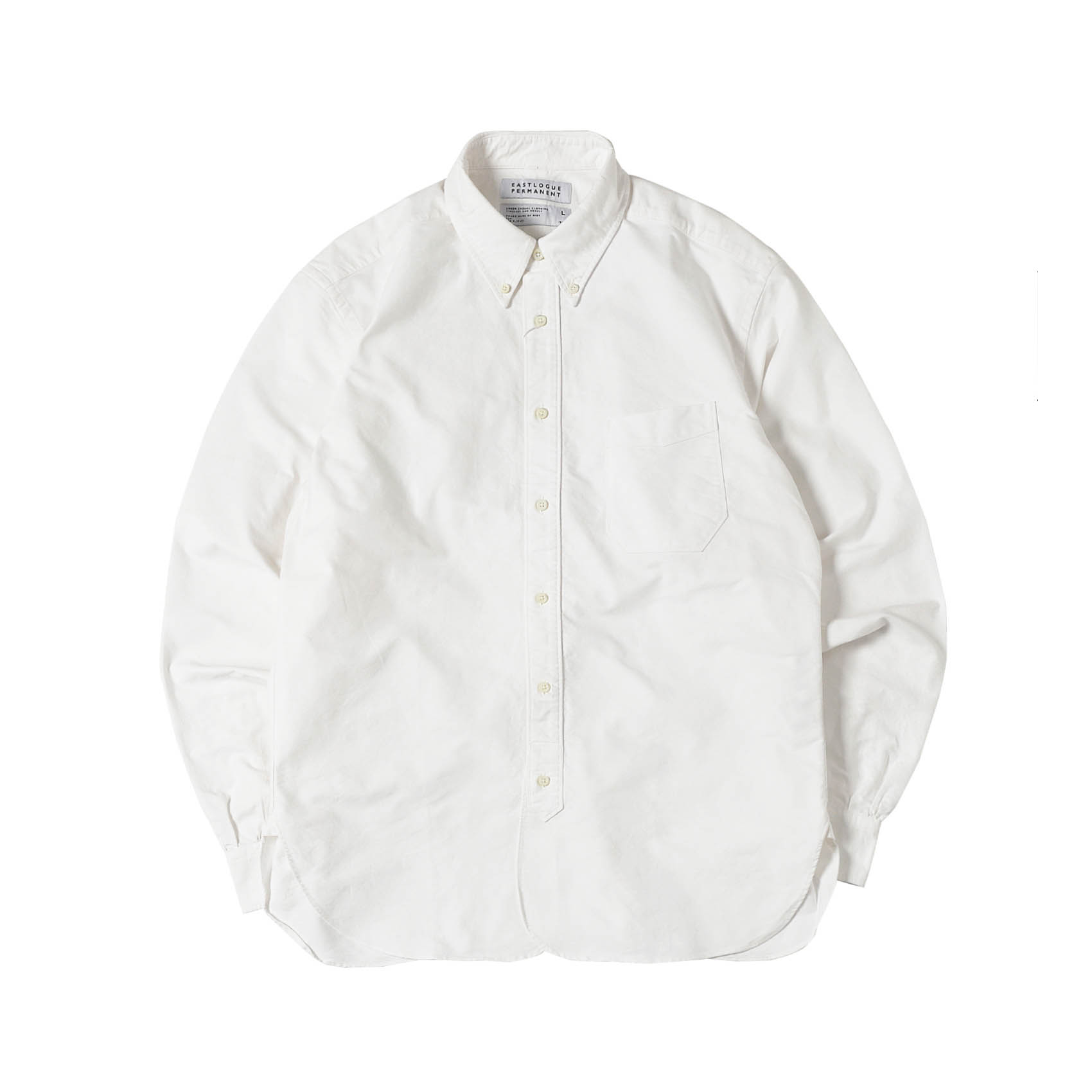 B.D REGULAR SHIRTS - WHITE OXFORD