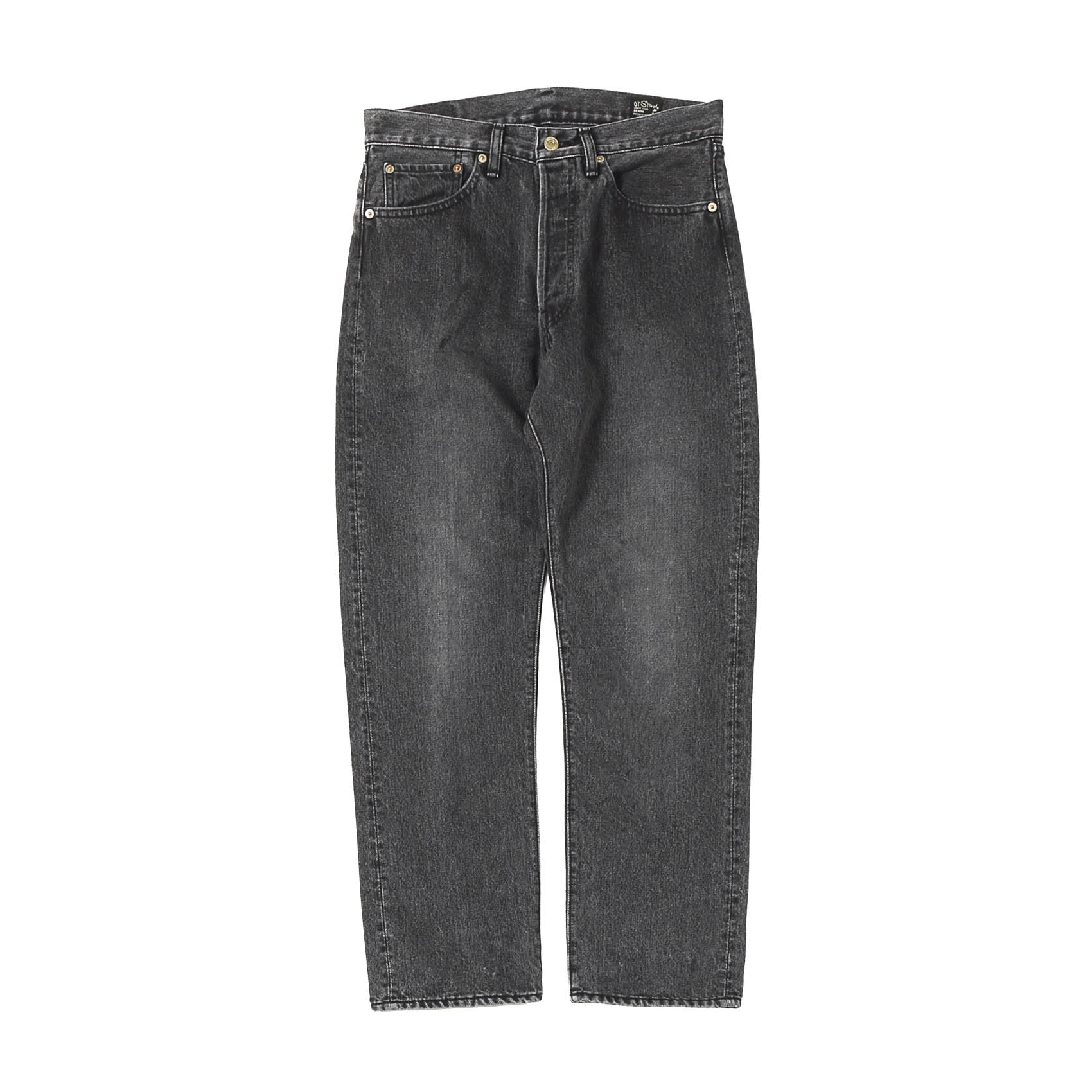 105W STANDARD DENIM - BLACK STONE WASHING