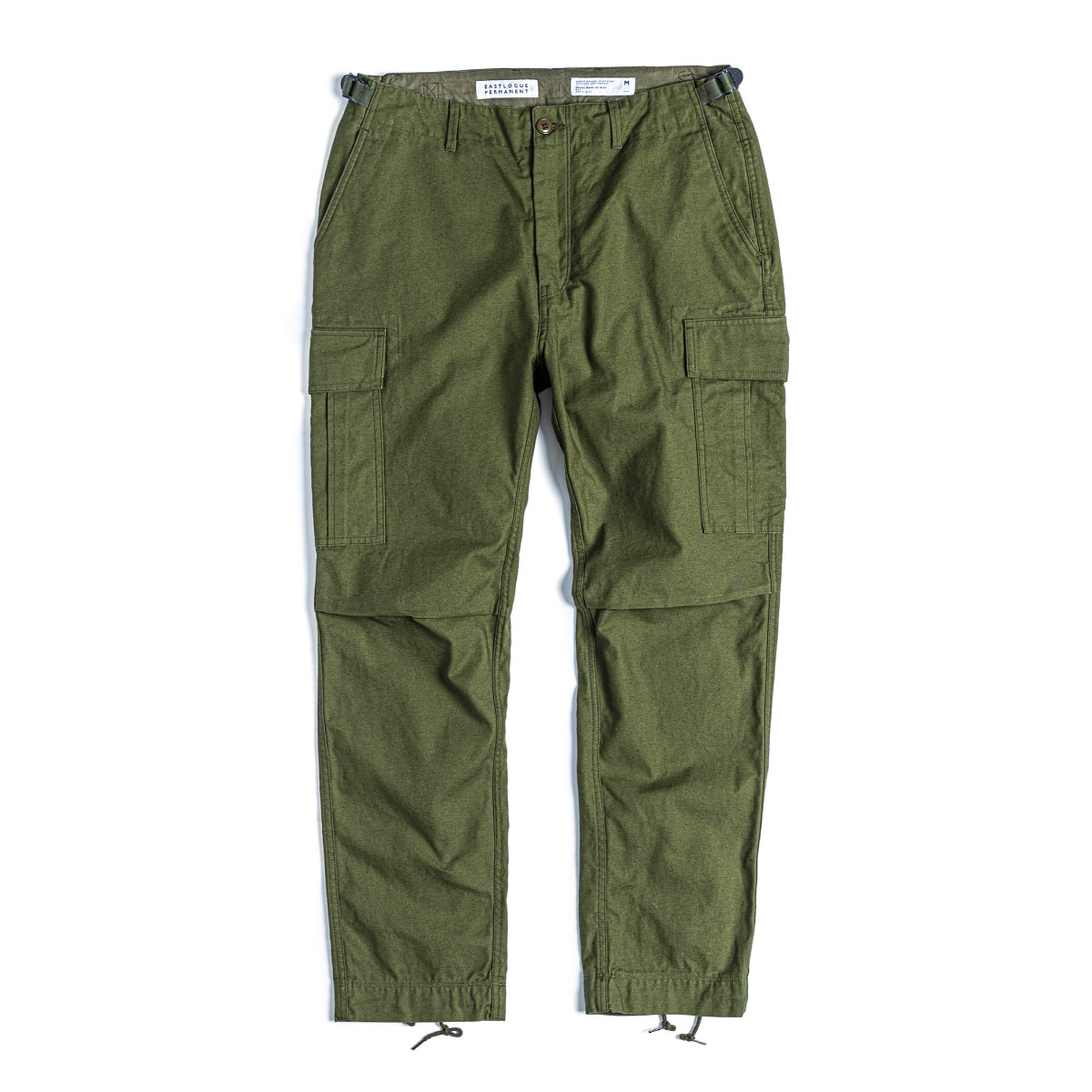FIELD PANTS SLIM FIT - OLIVE BACK SATIN
