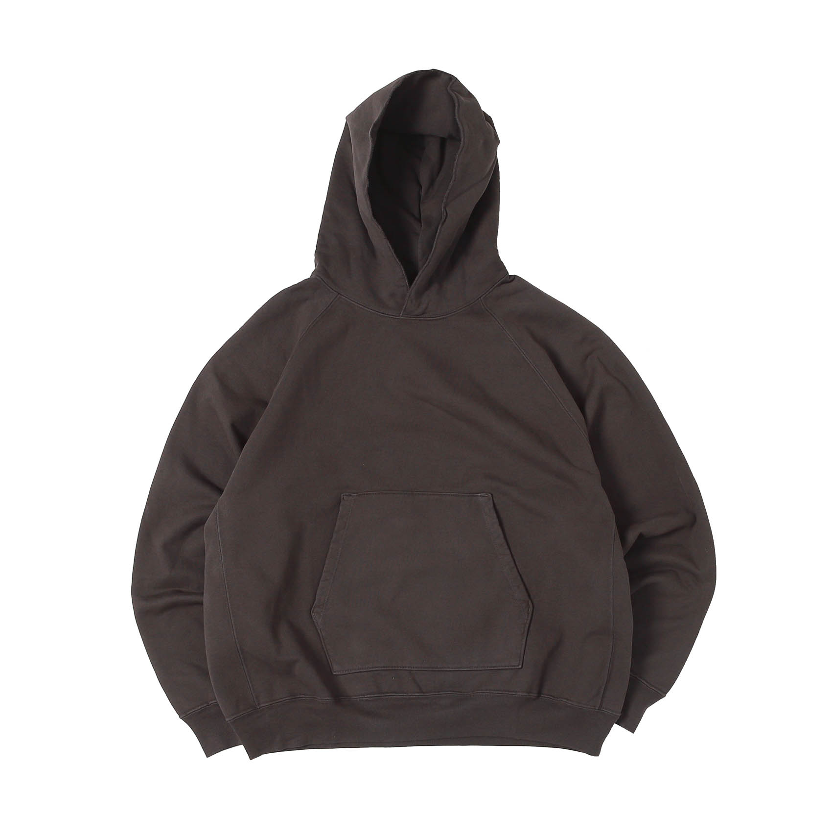SUPER WEIGHTED HOODIE - FADED BLACK