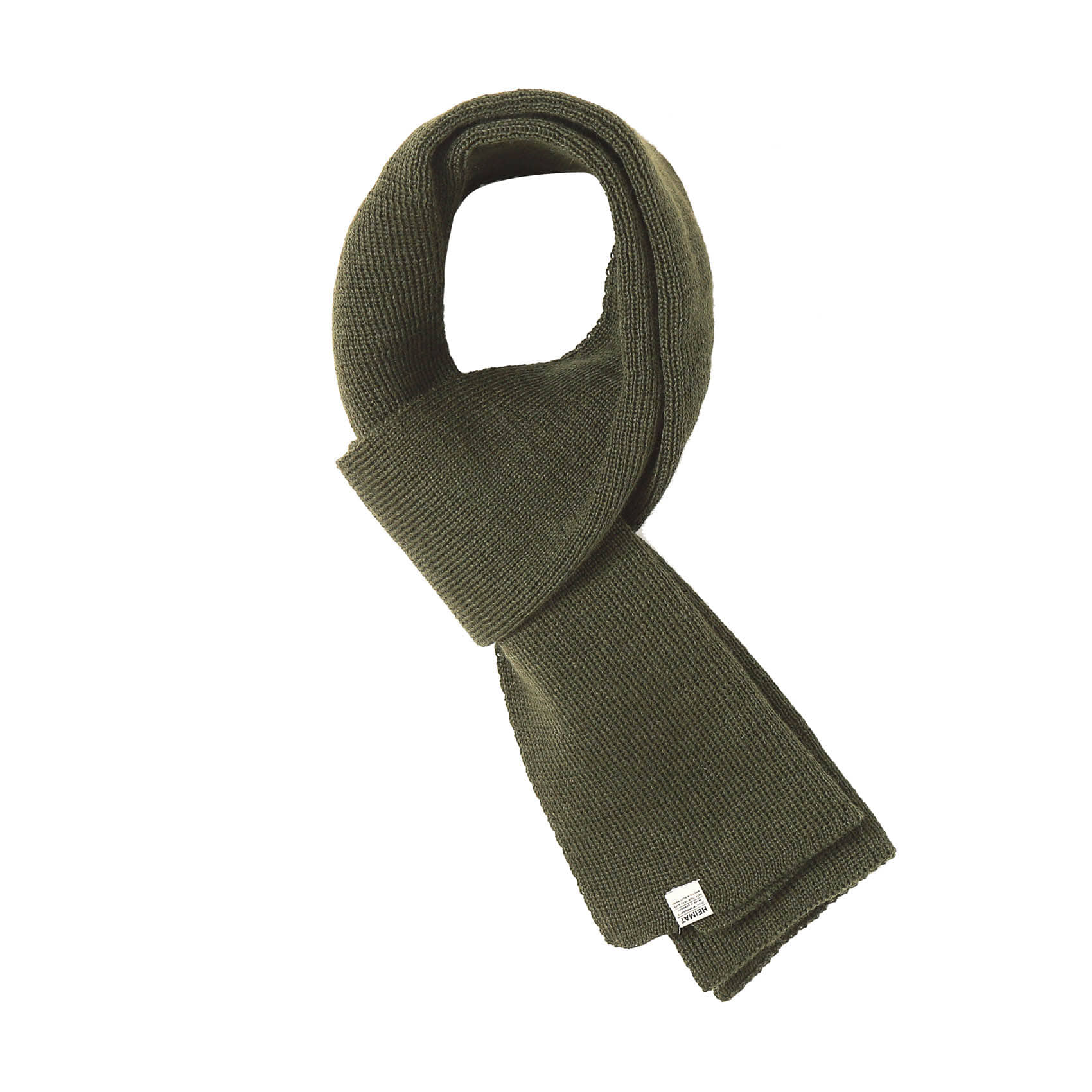 WOOL SCARF - GREEN