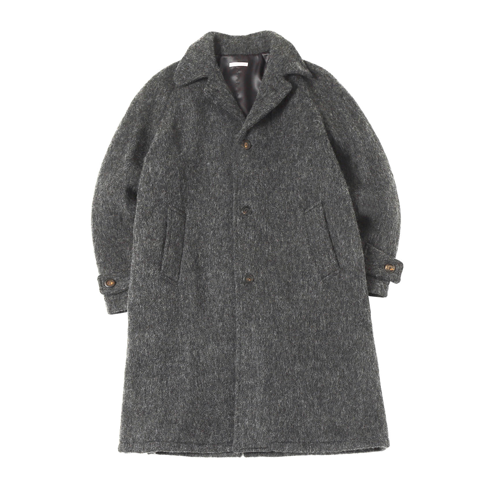 PETER RAGLAN COAT - GREY
