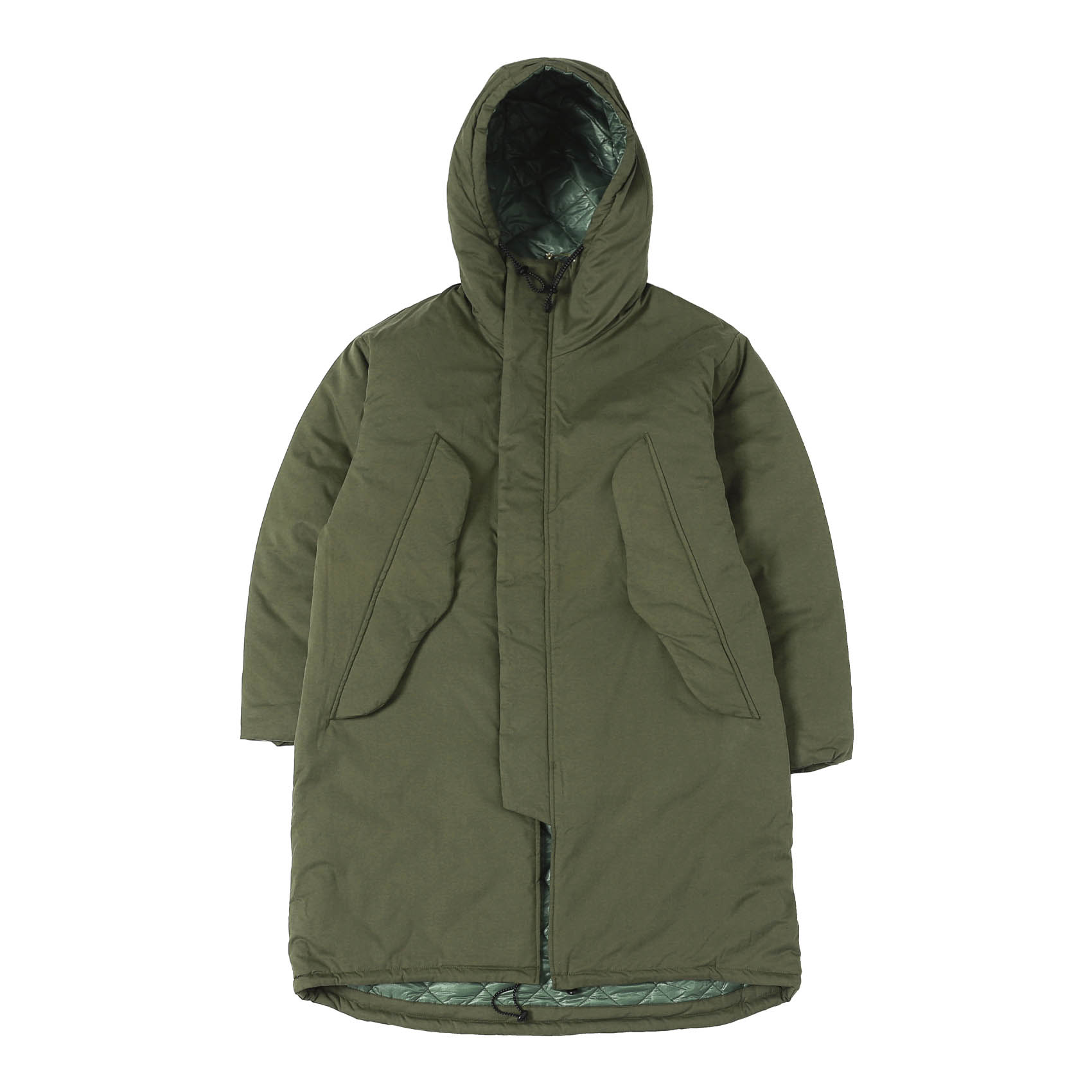 HARRY'S COAT - OLIVE