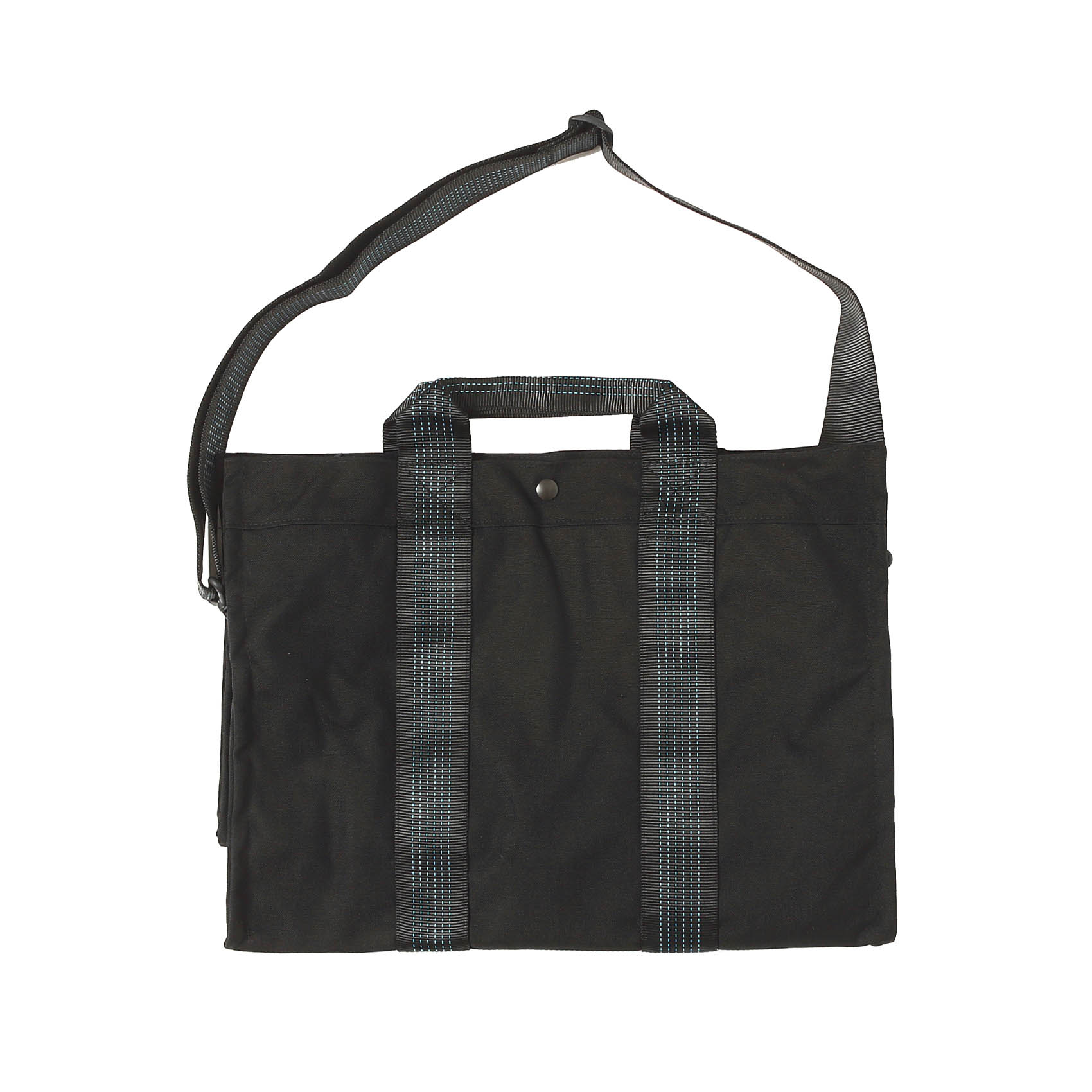 TRAVEL BAG W/SHOULDER STRAP - RAVEN