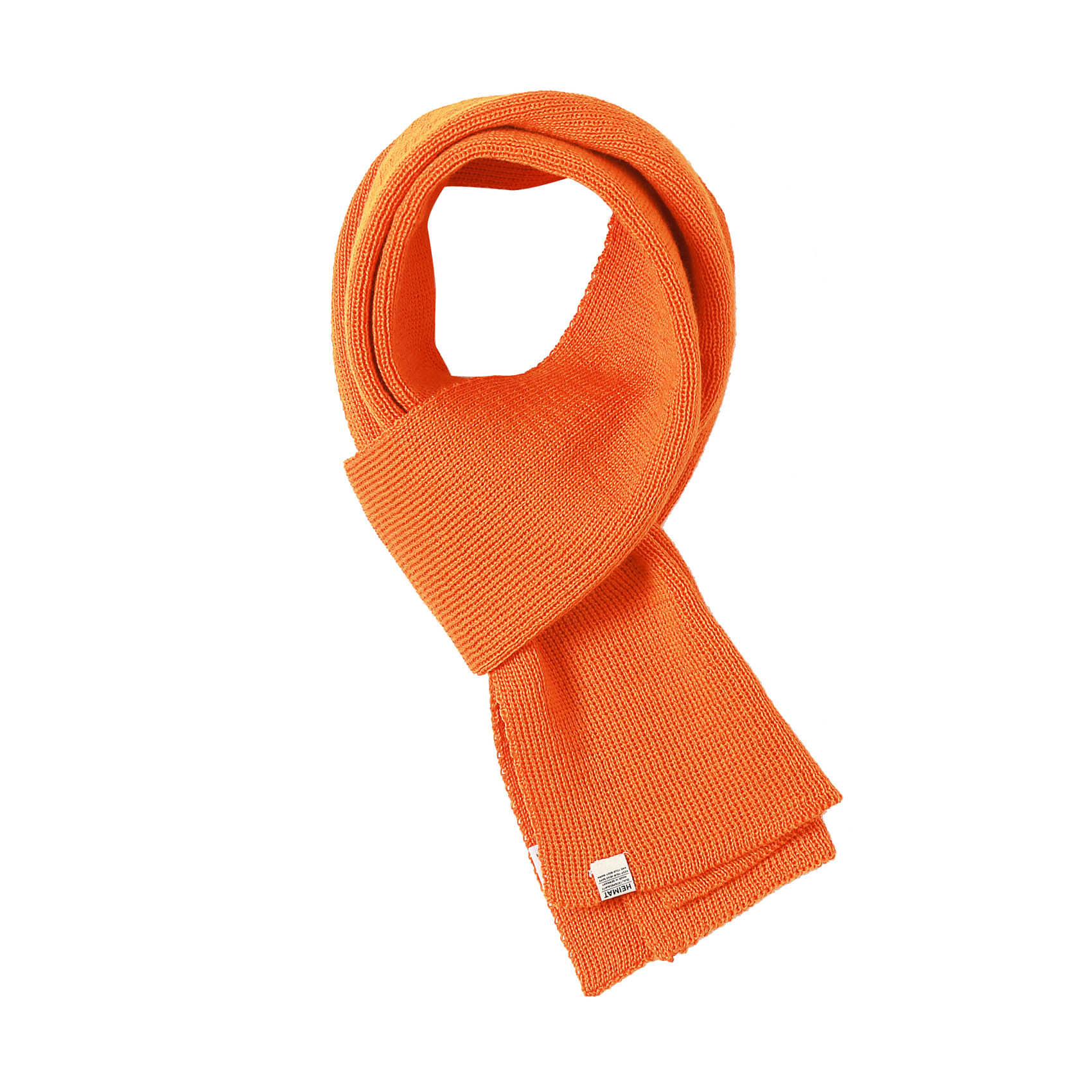 WOOL SCARF - ORANGE