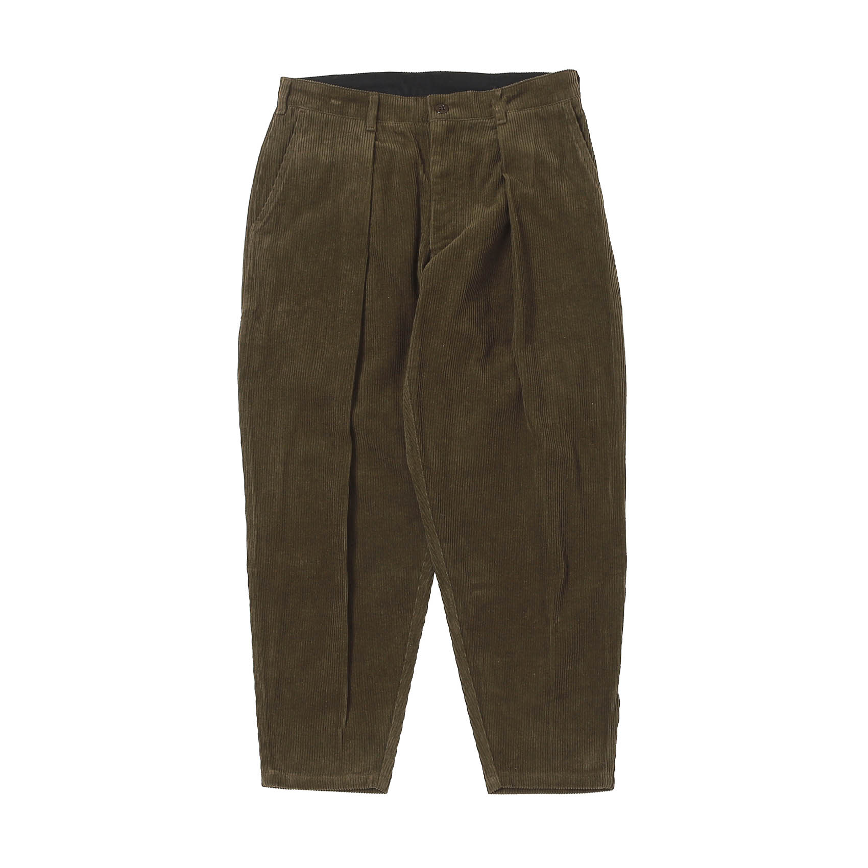 CORDUROY RIDING PANTS - BROWN