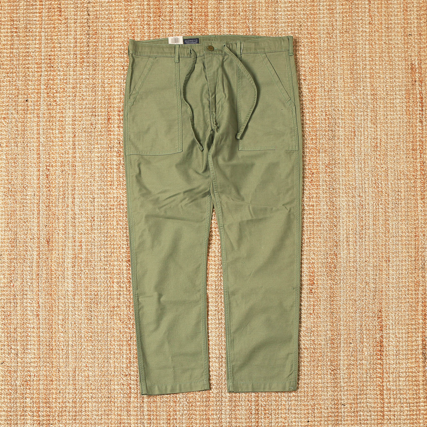 LEVIS FATIGUE PANTS - GREEN