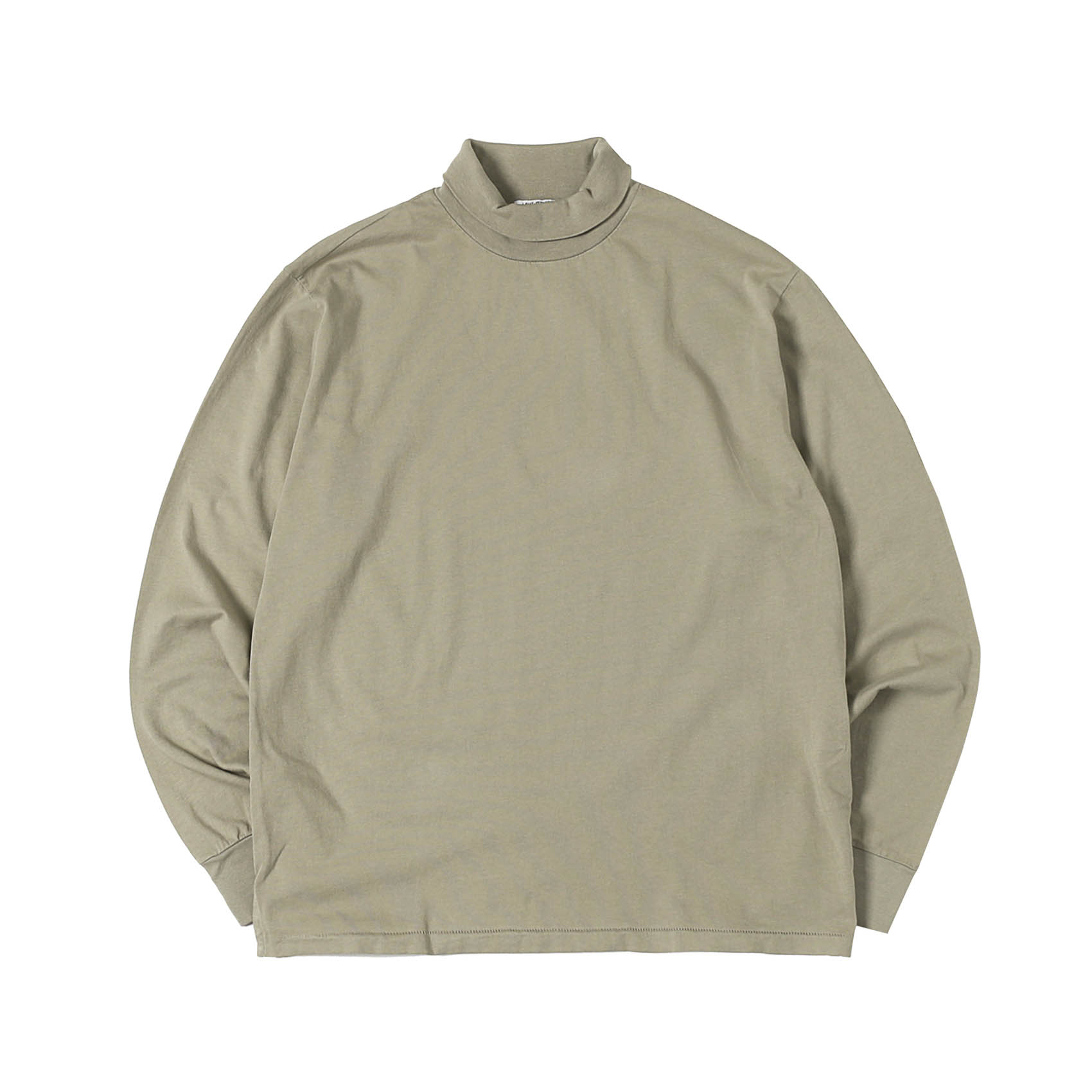 L/S TURTLENECK - TAUPE FOG