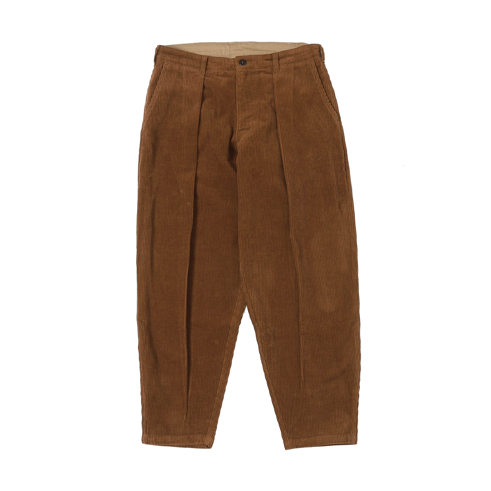 CORDUROY RIDING PANTS - CHESTNUT