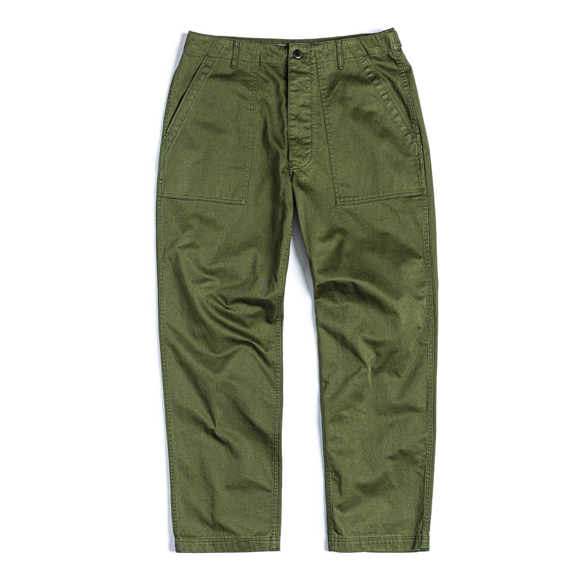 FATIGUE PANTS - OLIVE BACK SATIN