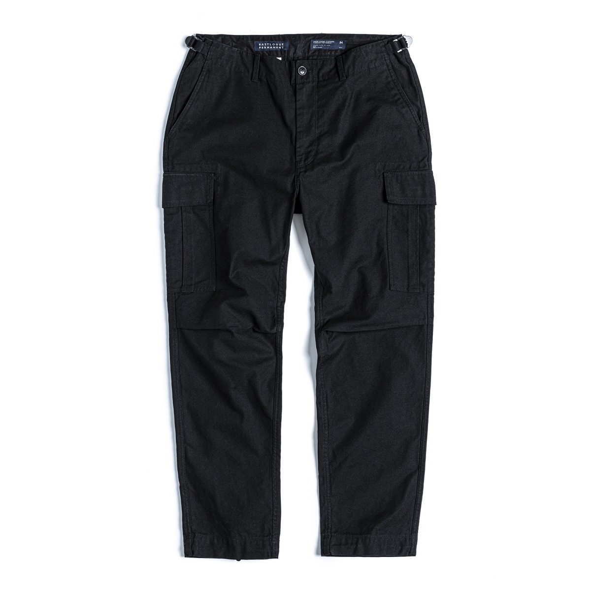 FIELD PANTS SLIM FIT - BLACK BACK SATIN