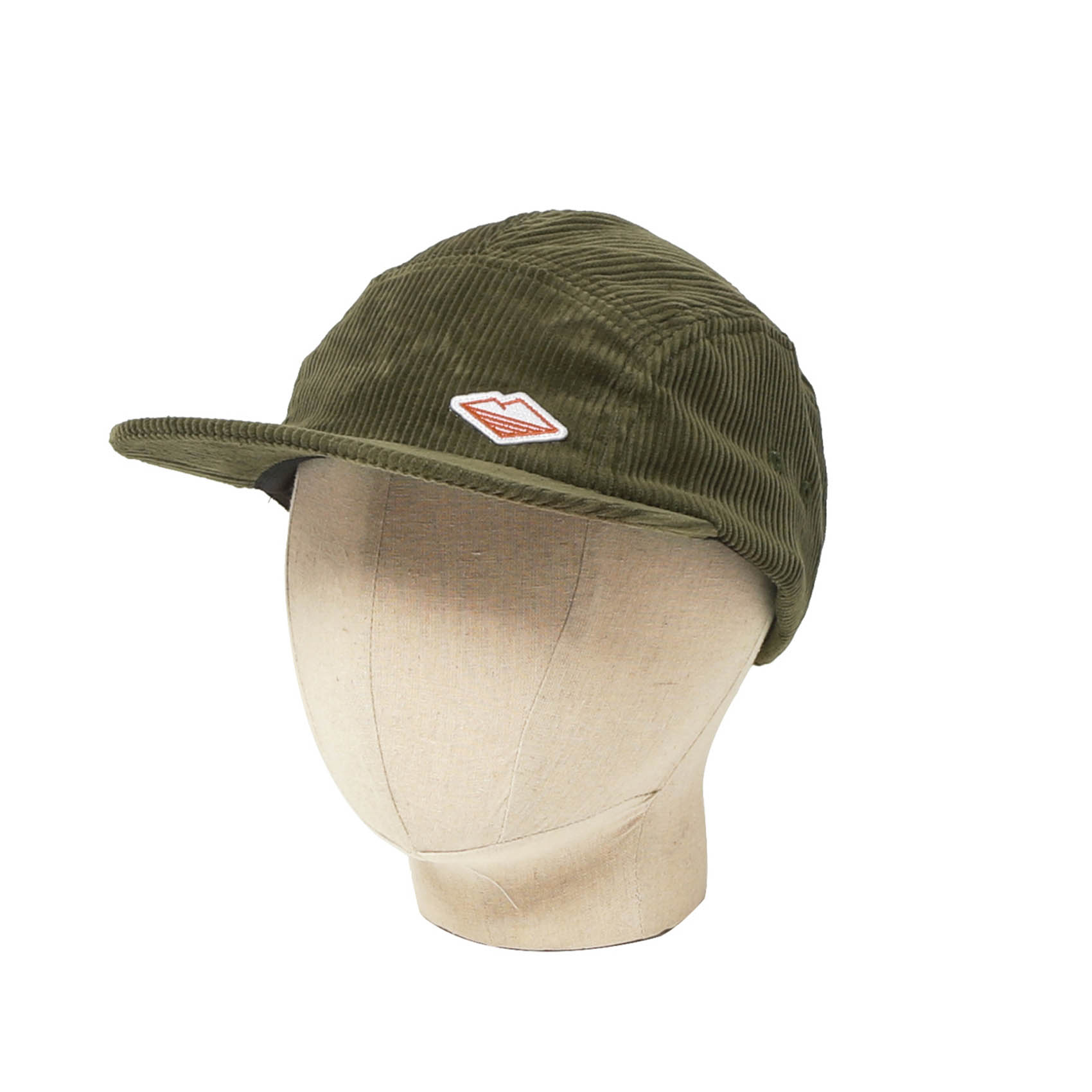 TRAVEL CAP - OLIVE CORDUROY