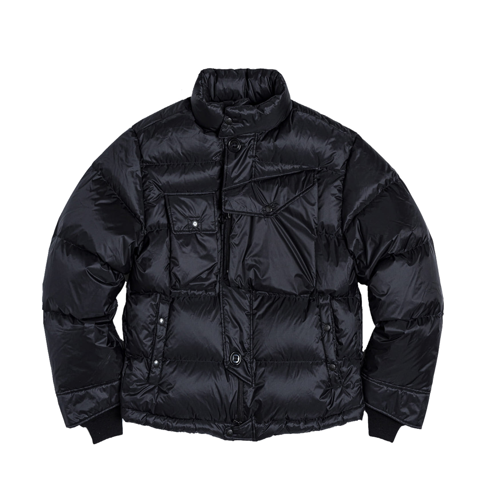 CBA DOWN PARKA - BLACK