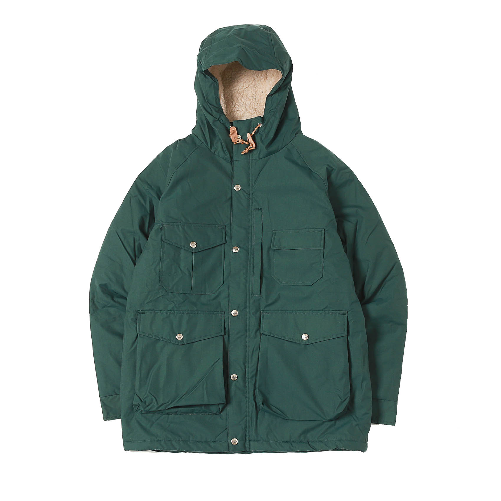 NORTHFIELD PARKA - FOREST GREEN