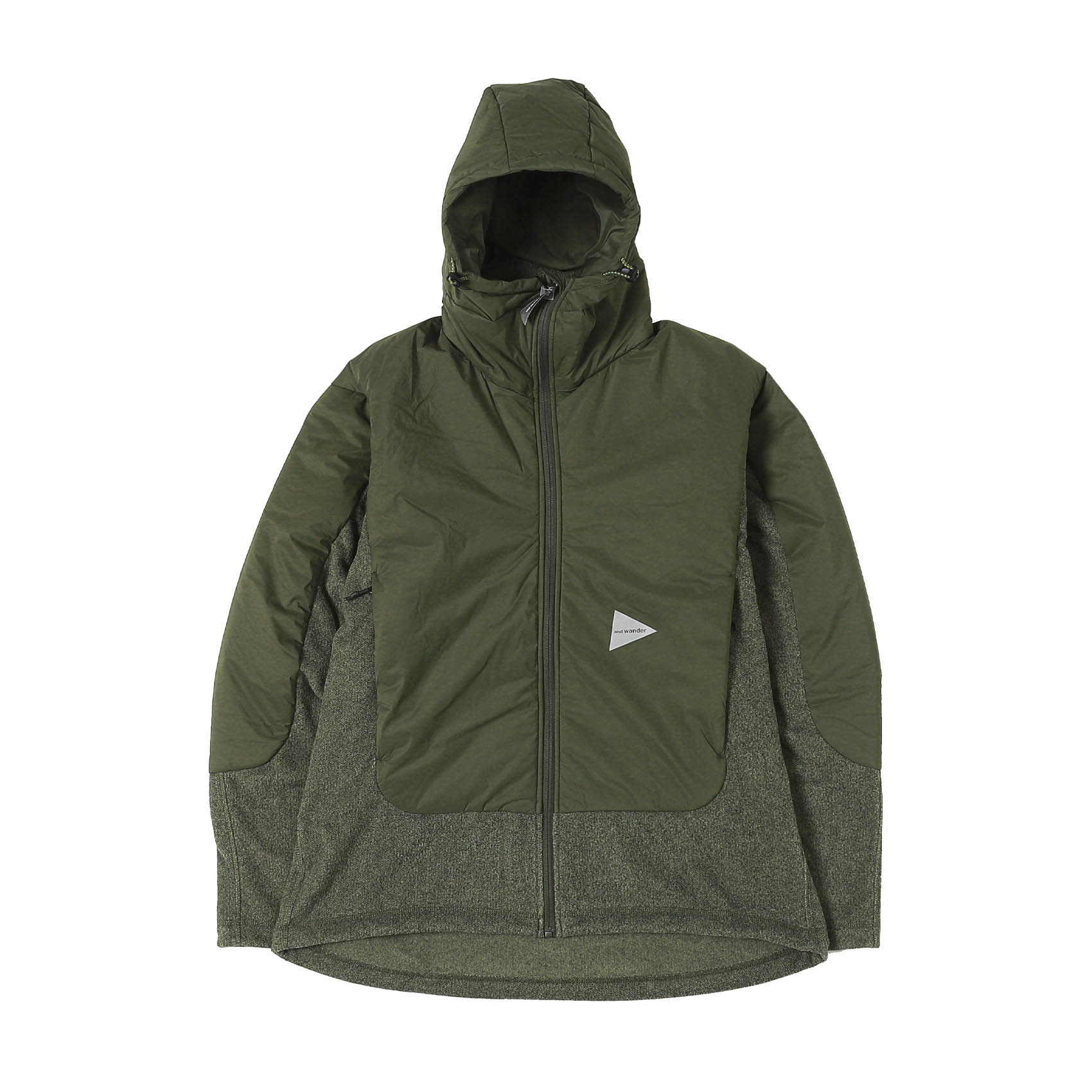 TOP FLEECE JACKET - KHAKI