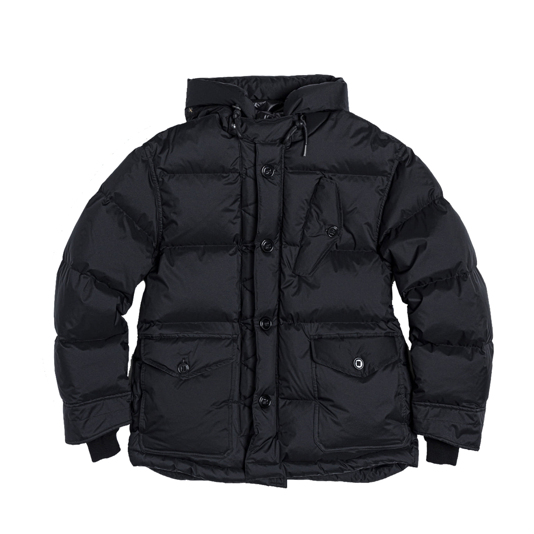 RAF DOWN PARKA - BLACK