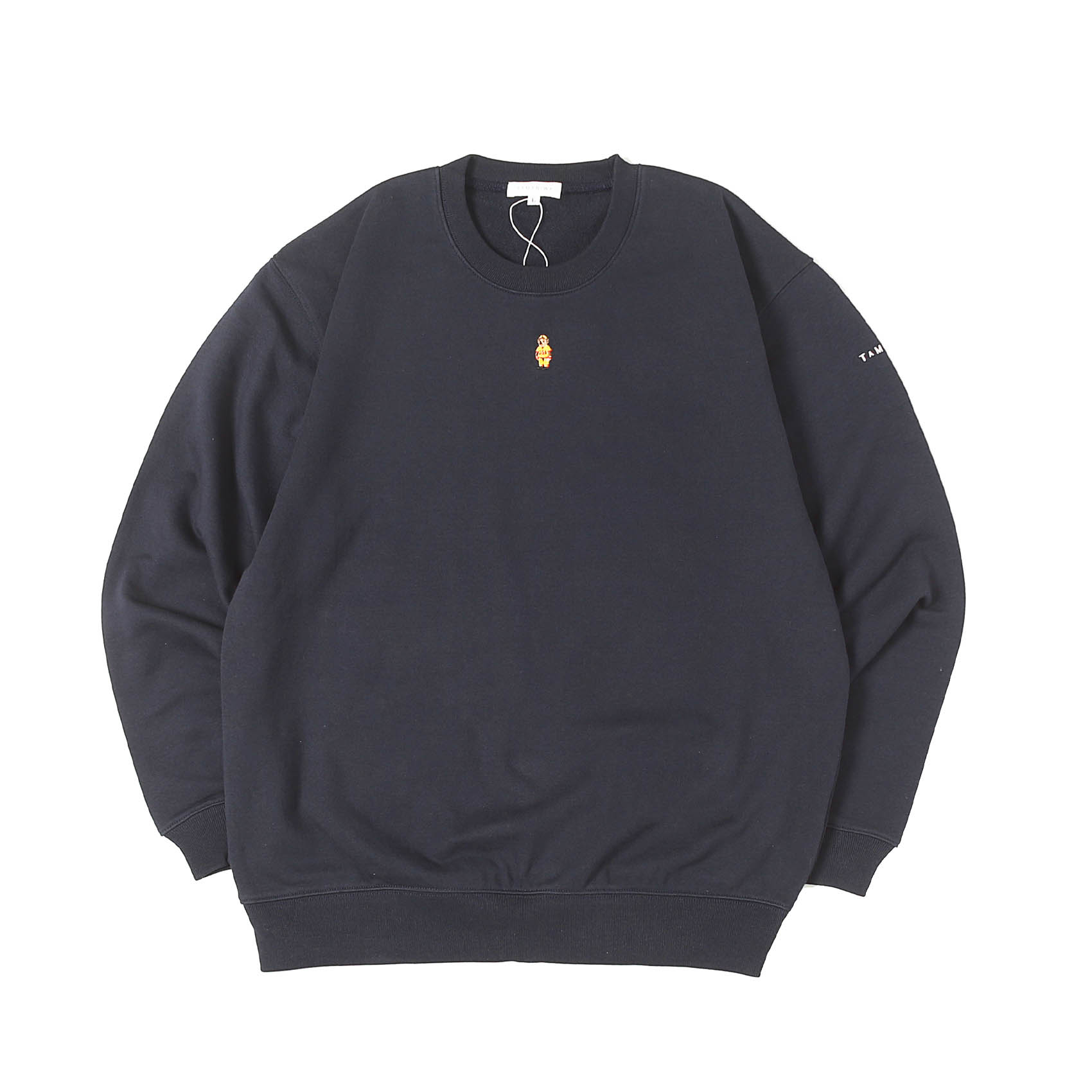 BEAR TRAINER SWEATSHIRTS - NAVY