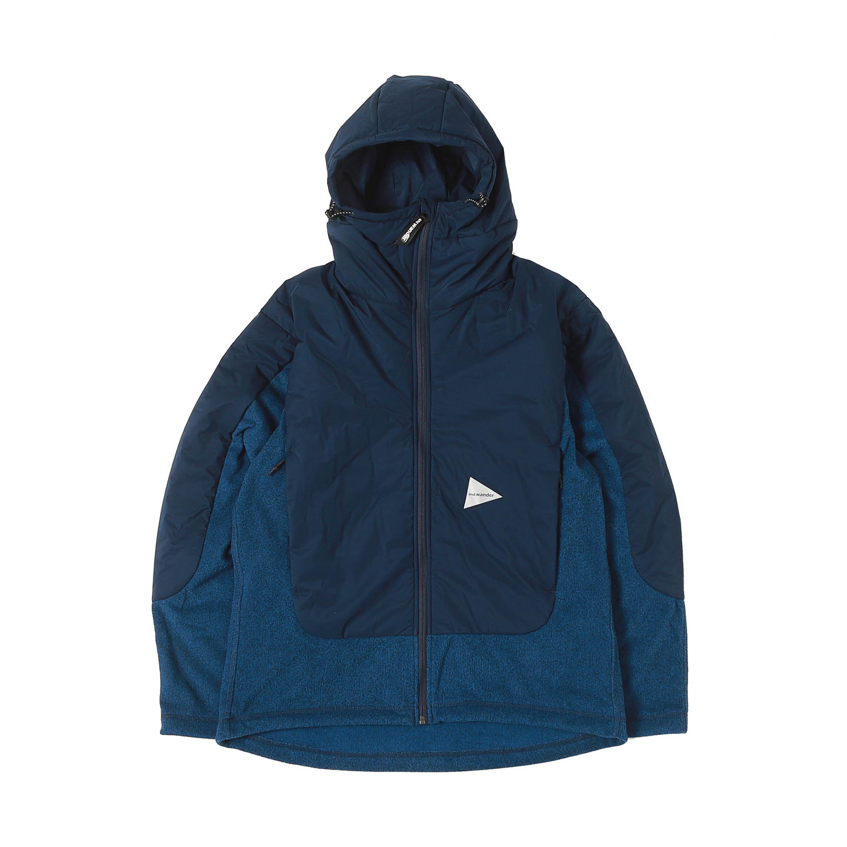 TOP FLEECE JACKET - NAVY