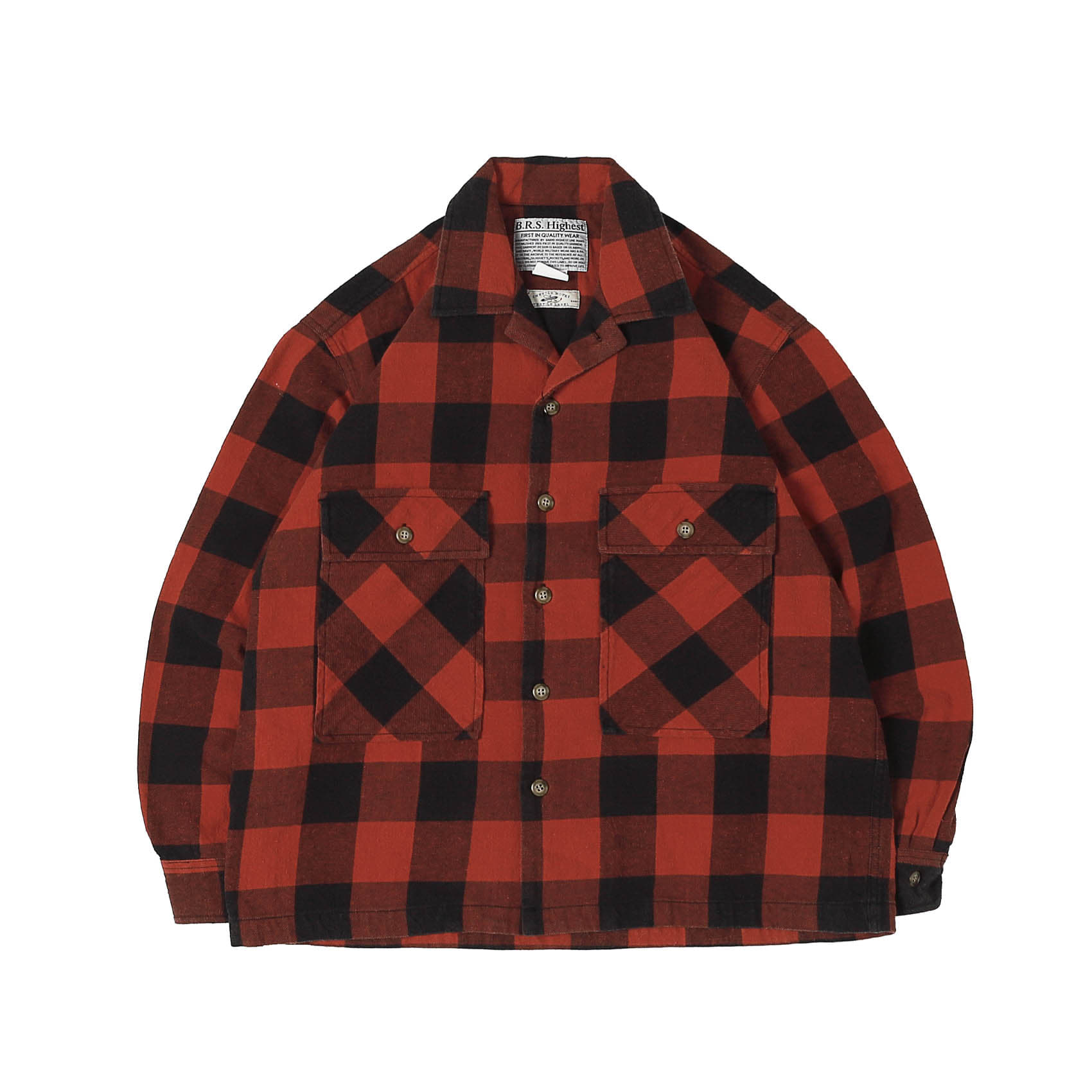 HIGHEST COTTON FLANNEL SHIRTS - RED