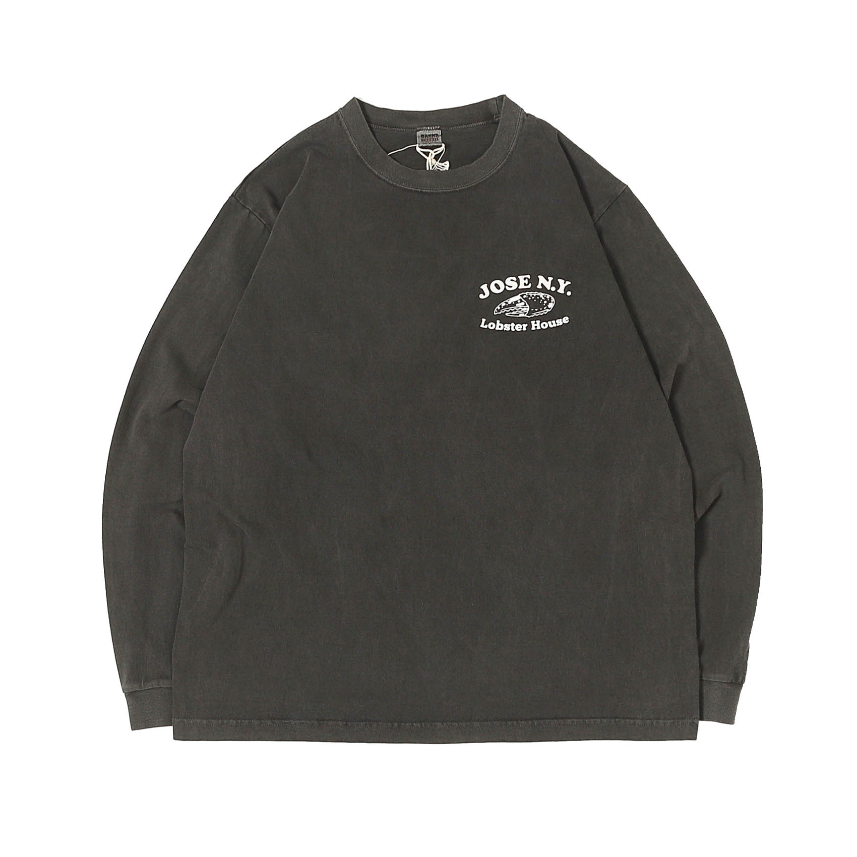 L/S PRINTED TEE - JOSE N.Y BLACK