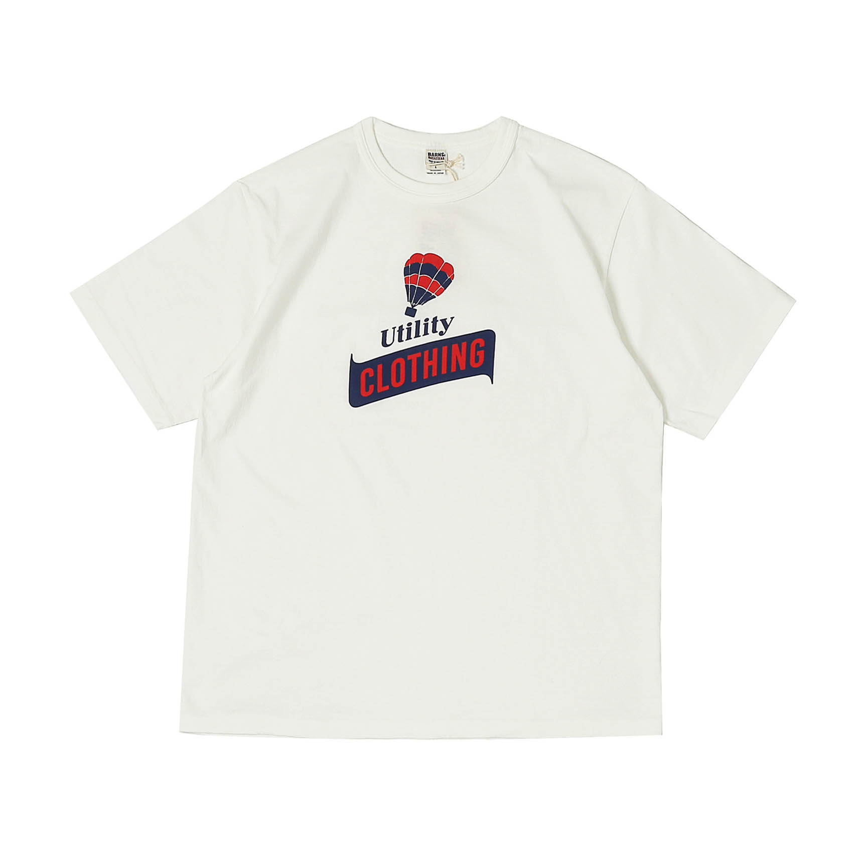 S/S PRINTED TEE - UTILITY CLOTHING