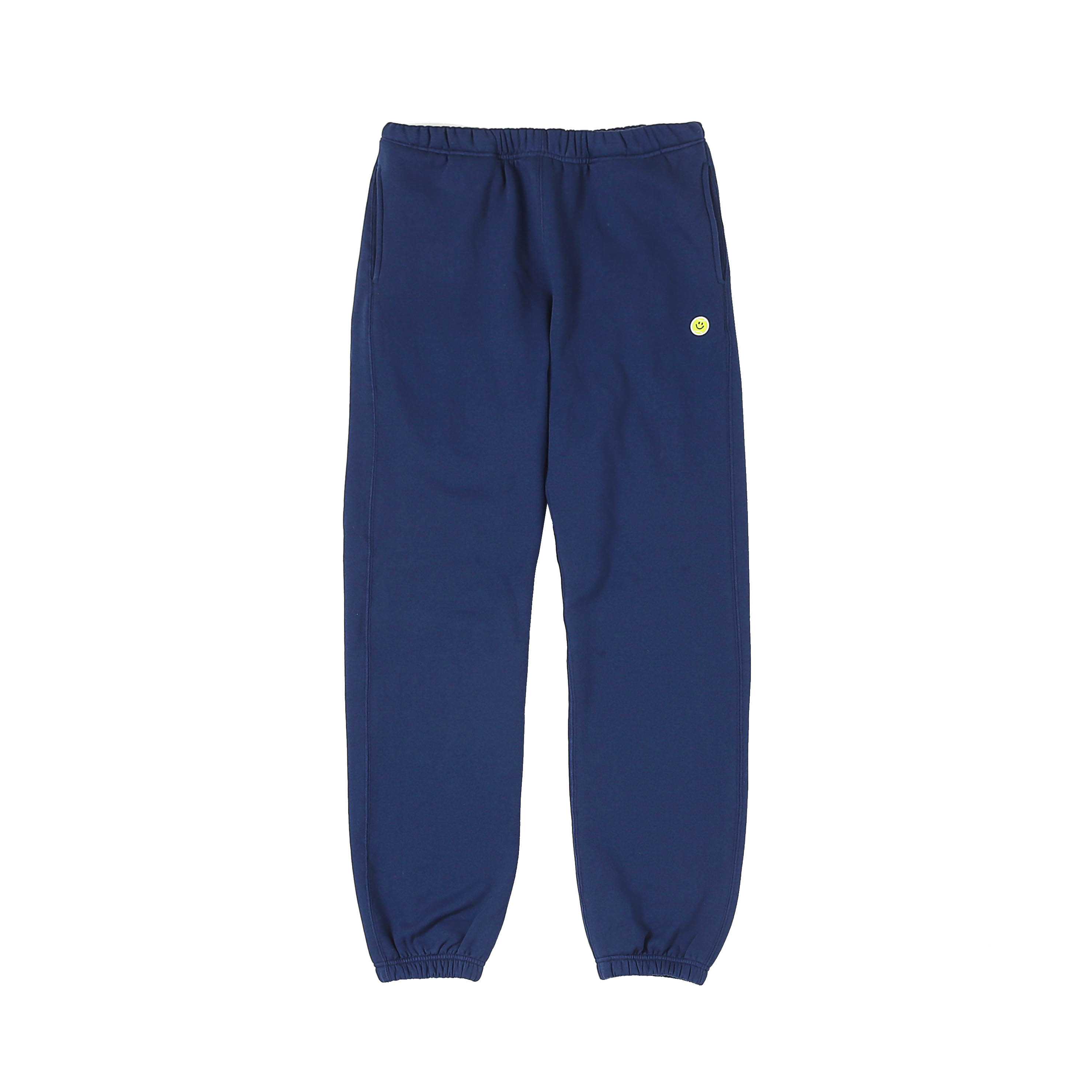 SMILE BALL SWEAT PANTS - NAVY