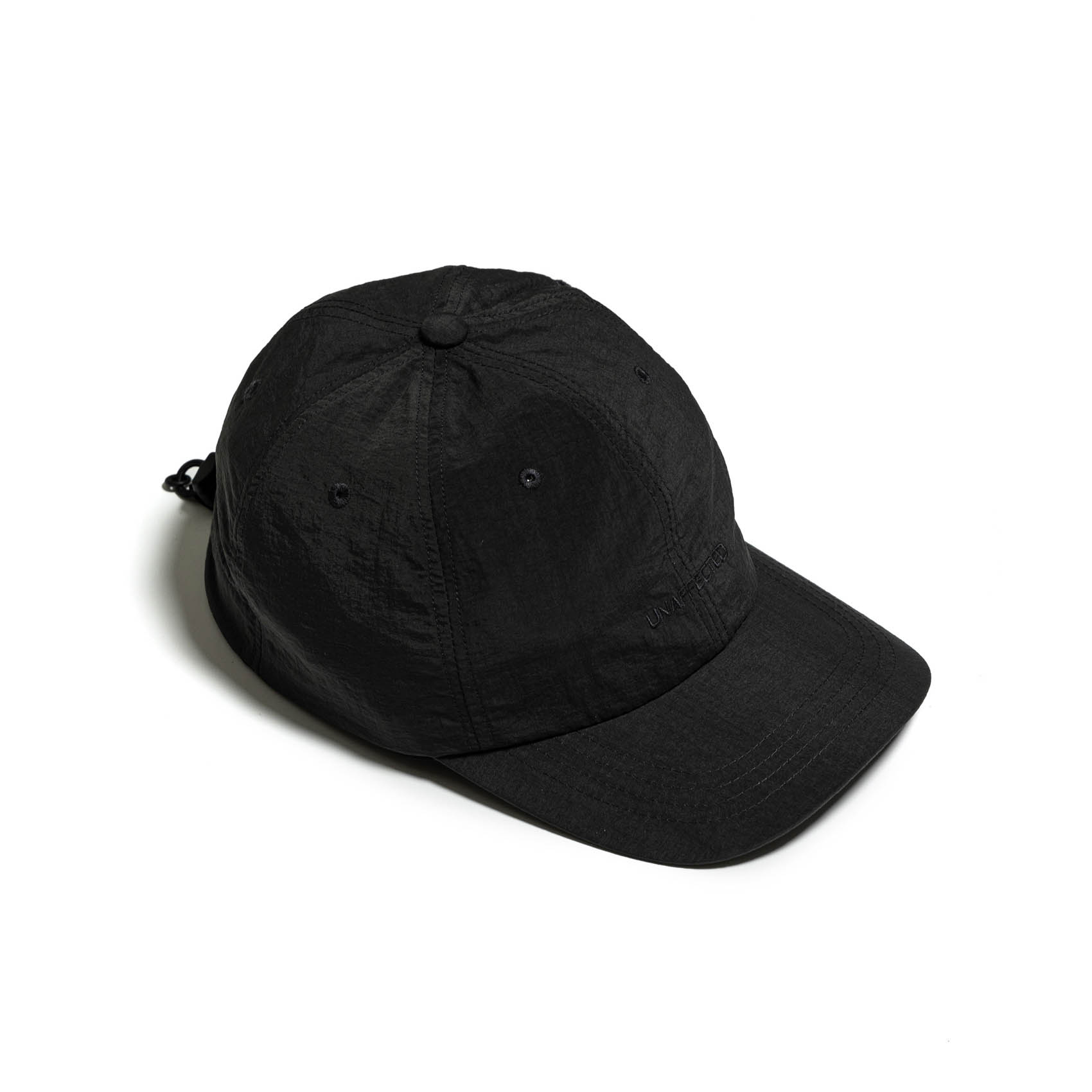 LOGO DRAWSTRING BALL CAP - CHARCOAL