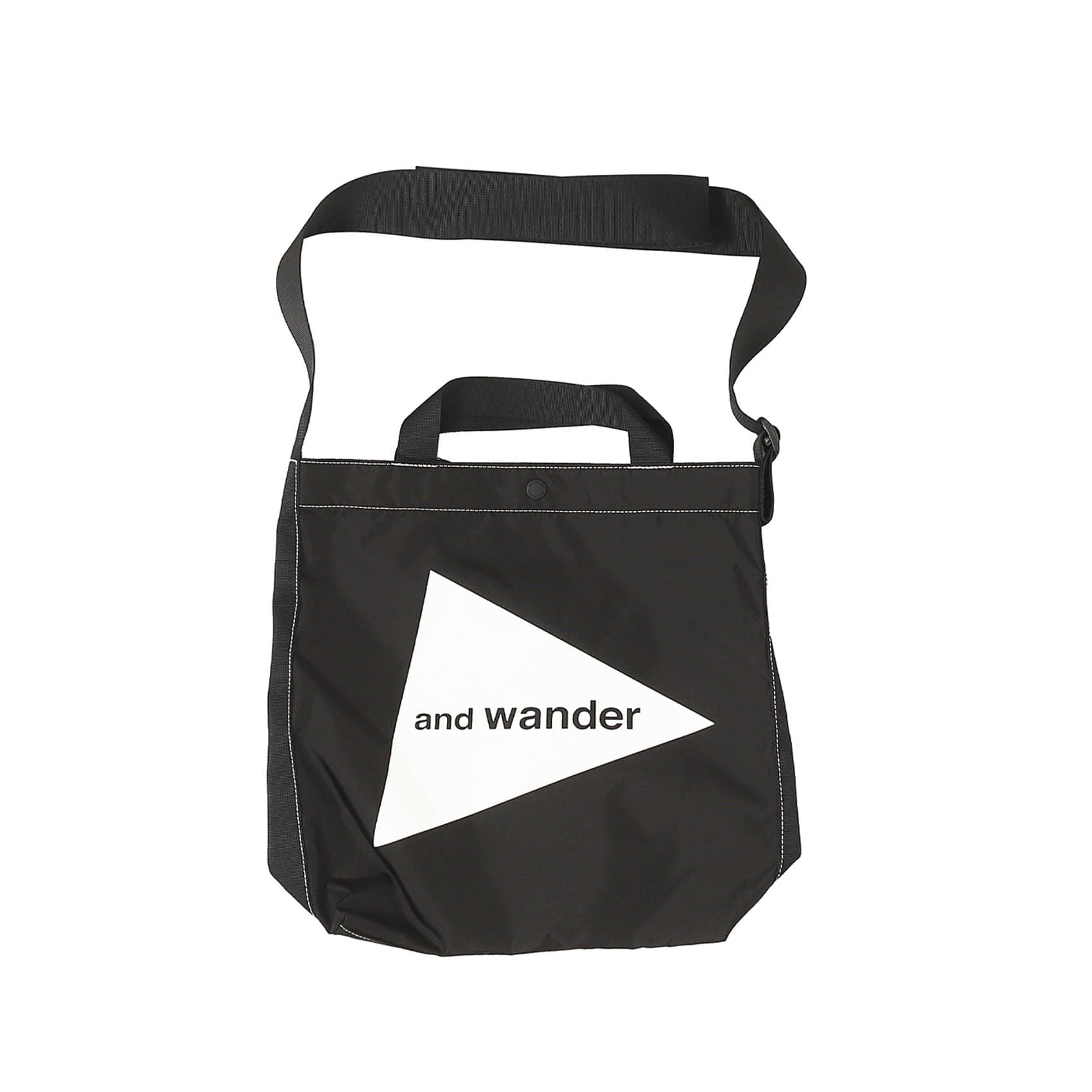 CORDURA LOGO TOTE BAG MEDIUM - BLACK