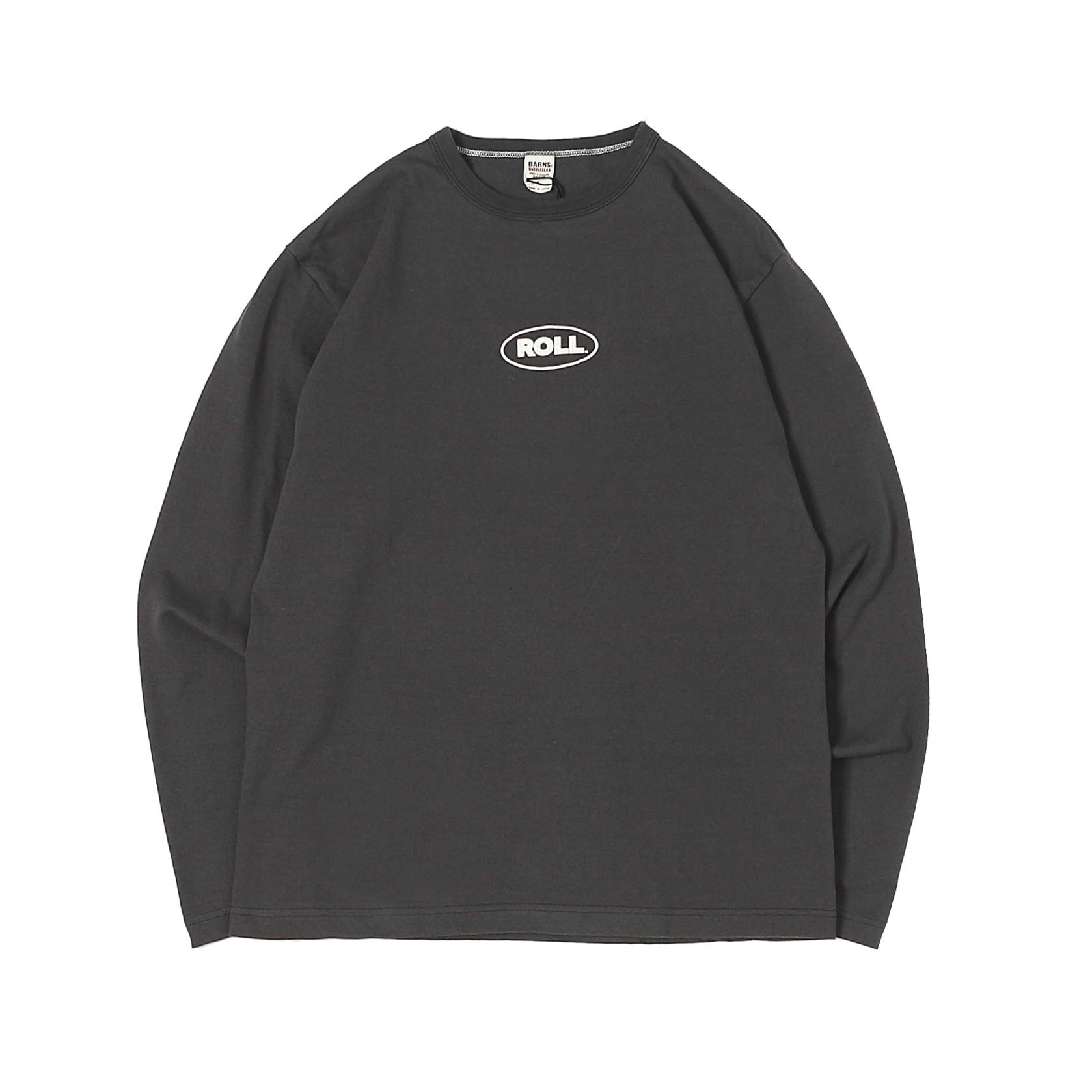 L/S PRINTED TEE - MINI ROLL BLACK