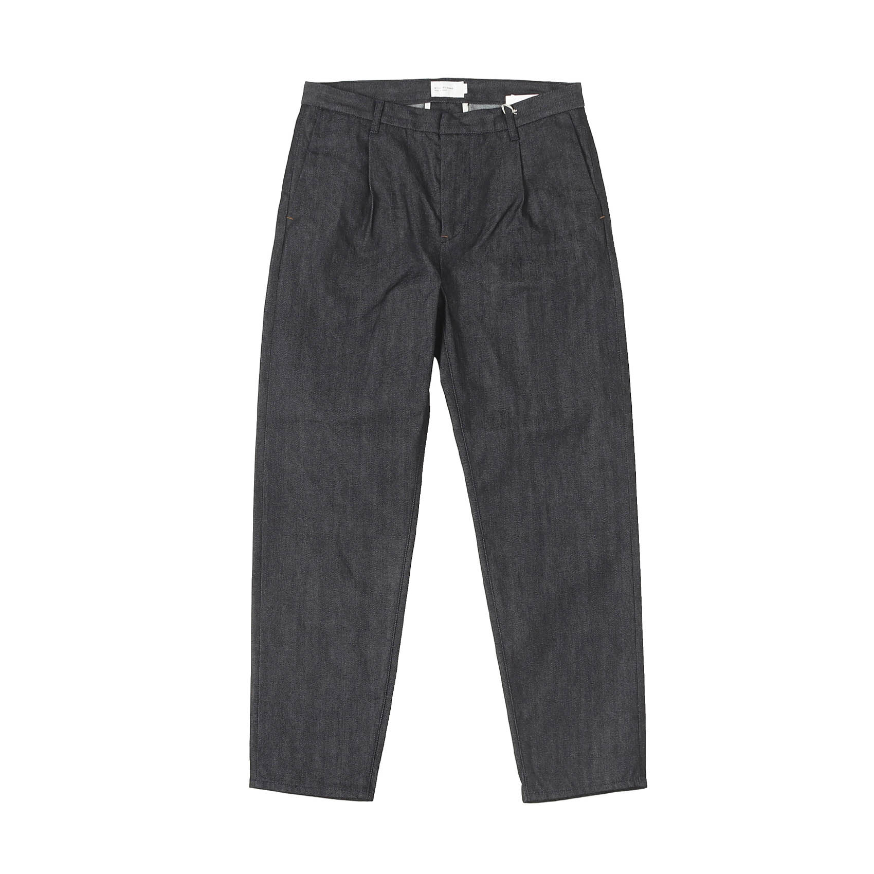 DENIM TAPERED PANTS - NAVY