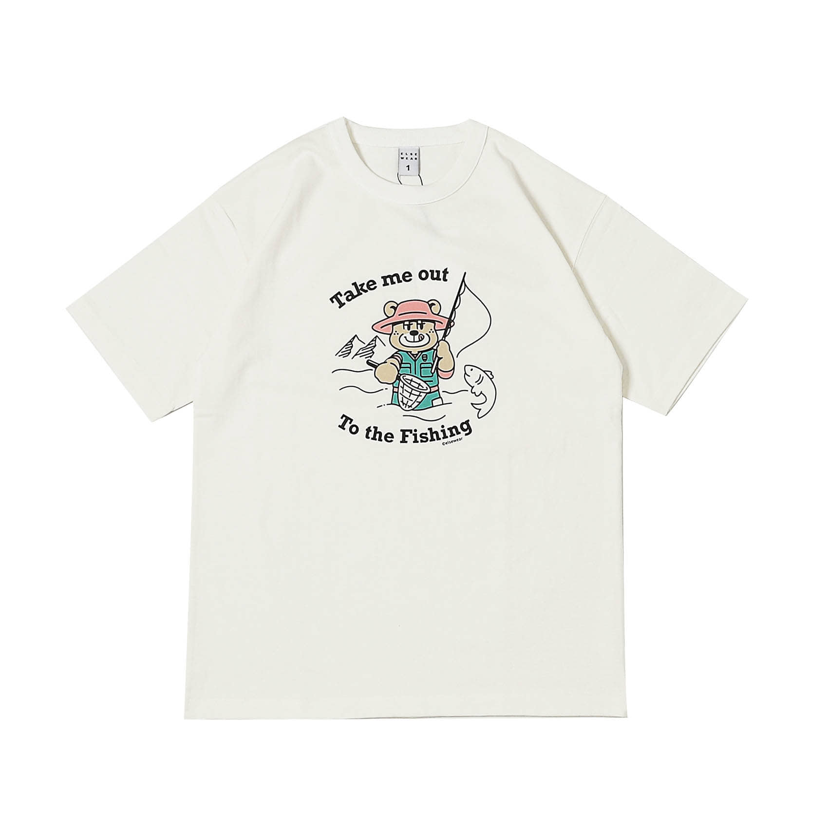 S/S PRINTED TEE - TAKE ME OUT