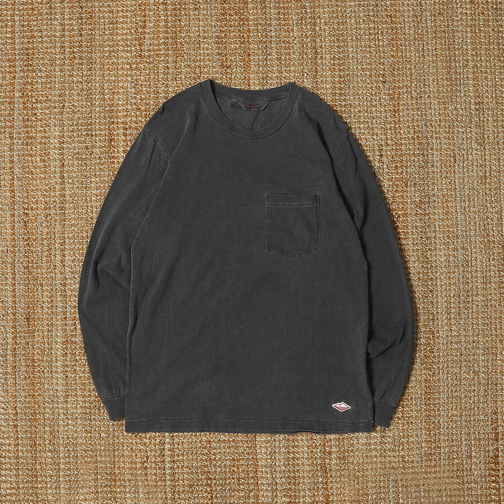 BATTENWEAR L/S POCKET TEE - GRAY