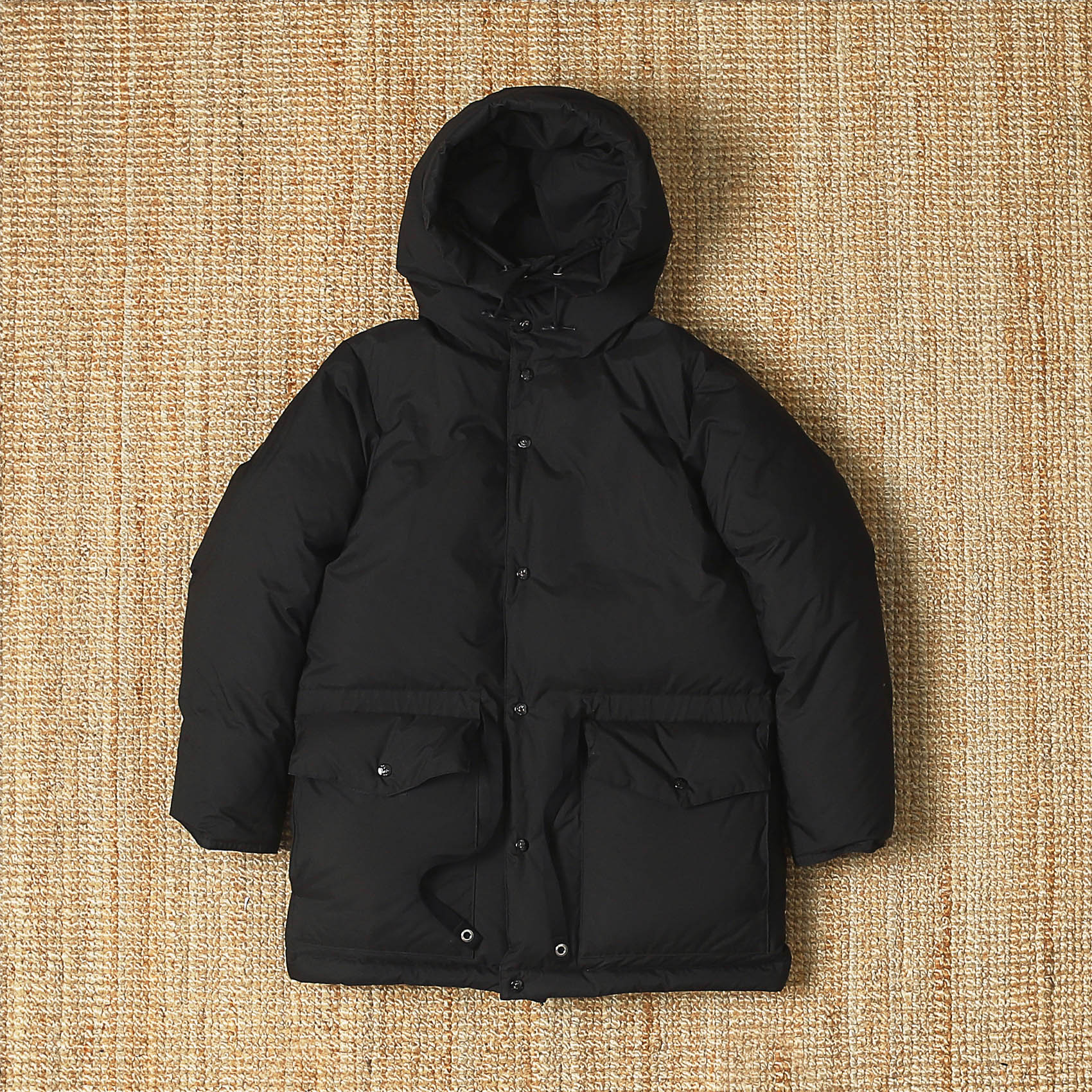 KAPTAIN SUNSHINE X FREEMANS SPORTING CLUB EXPEDITION PARKA - BLACK
