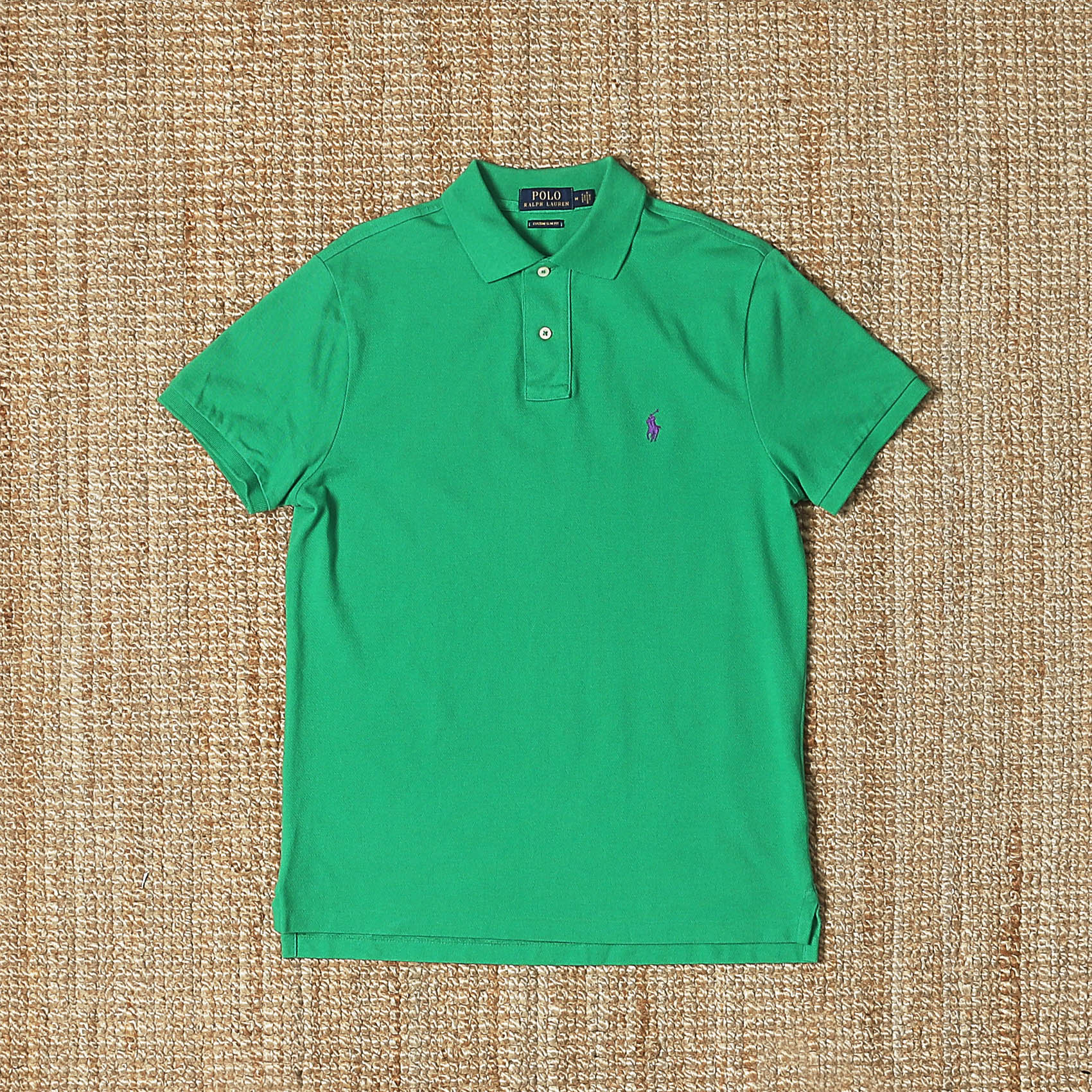 POLO RALPH LAUREN PIQUE T-SHIRT - GREEN