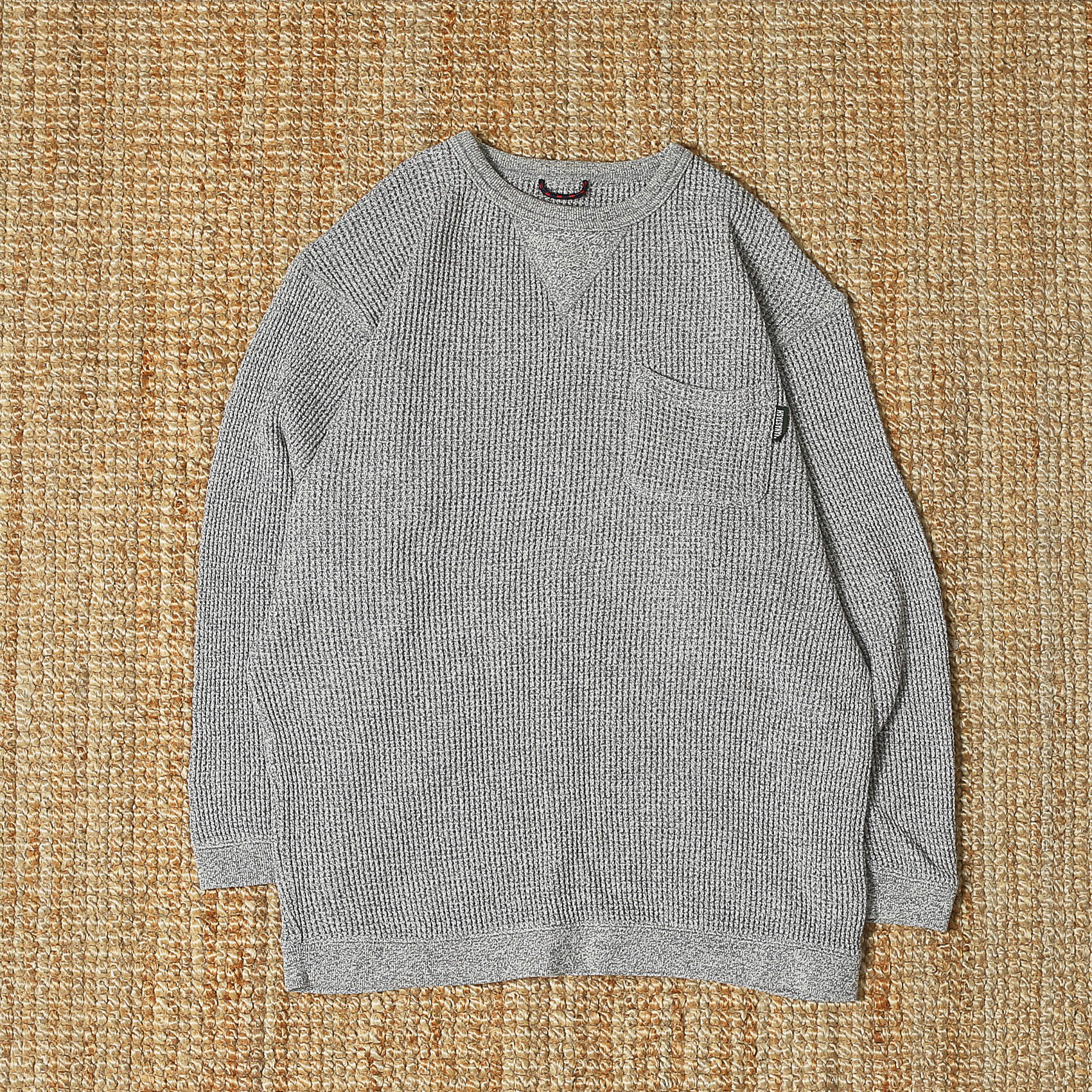 MANASTASH SNUG HEMP WAFFLE THERMAL - GREY
