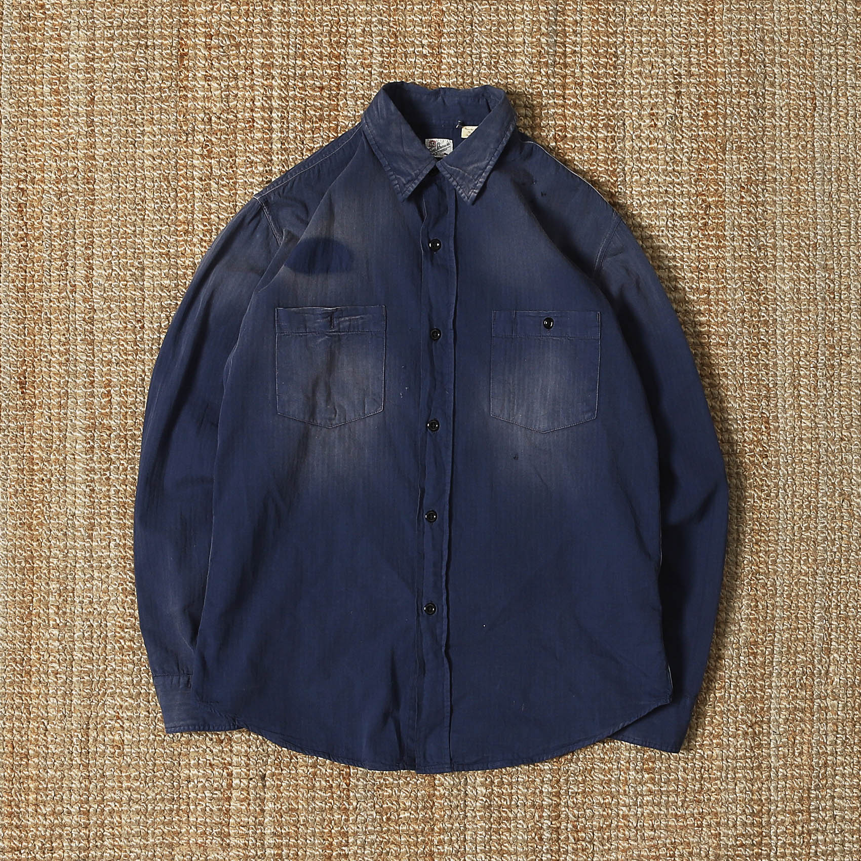LVC WORK SHIRT - DUSTY BLUE