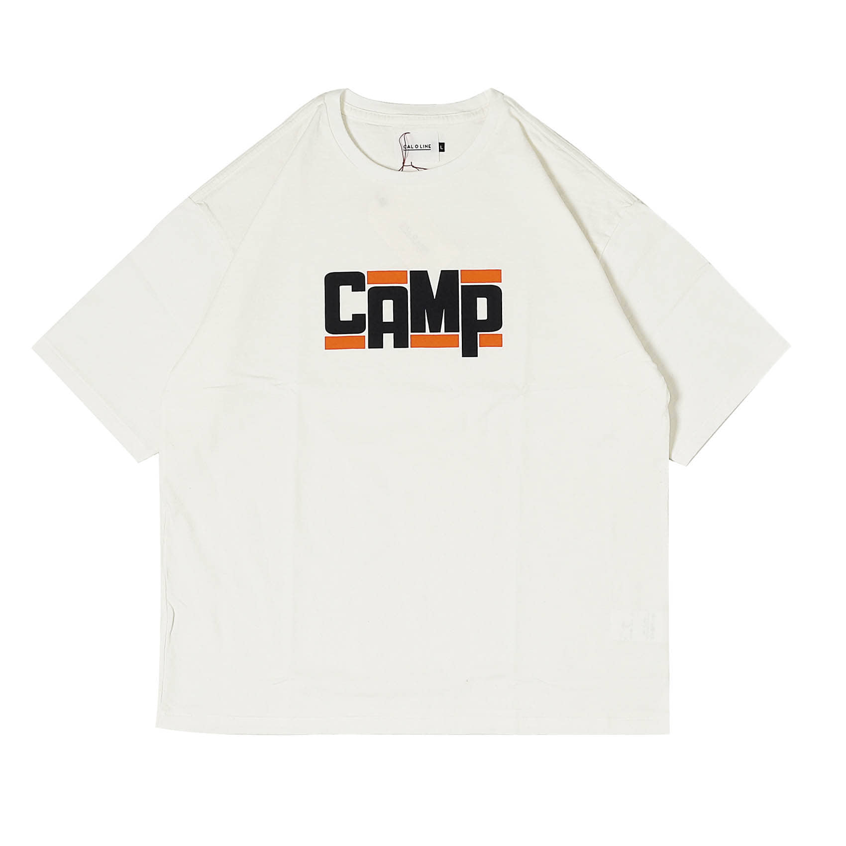 CAMP T-SHIRT - WHITE
