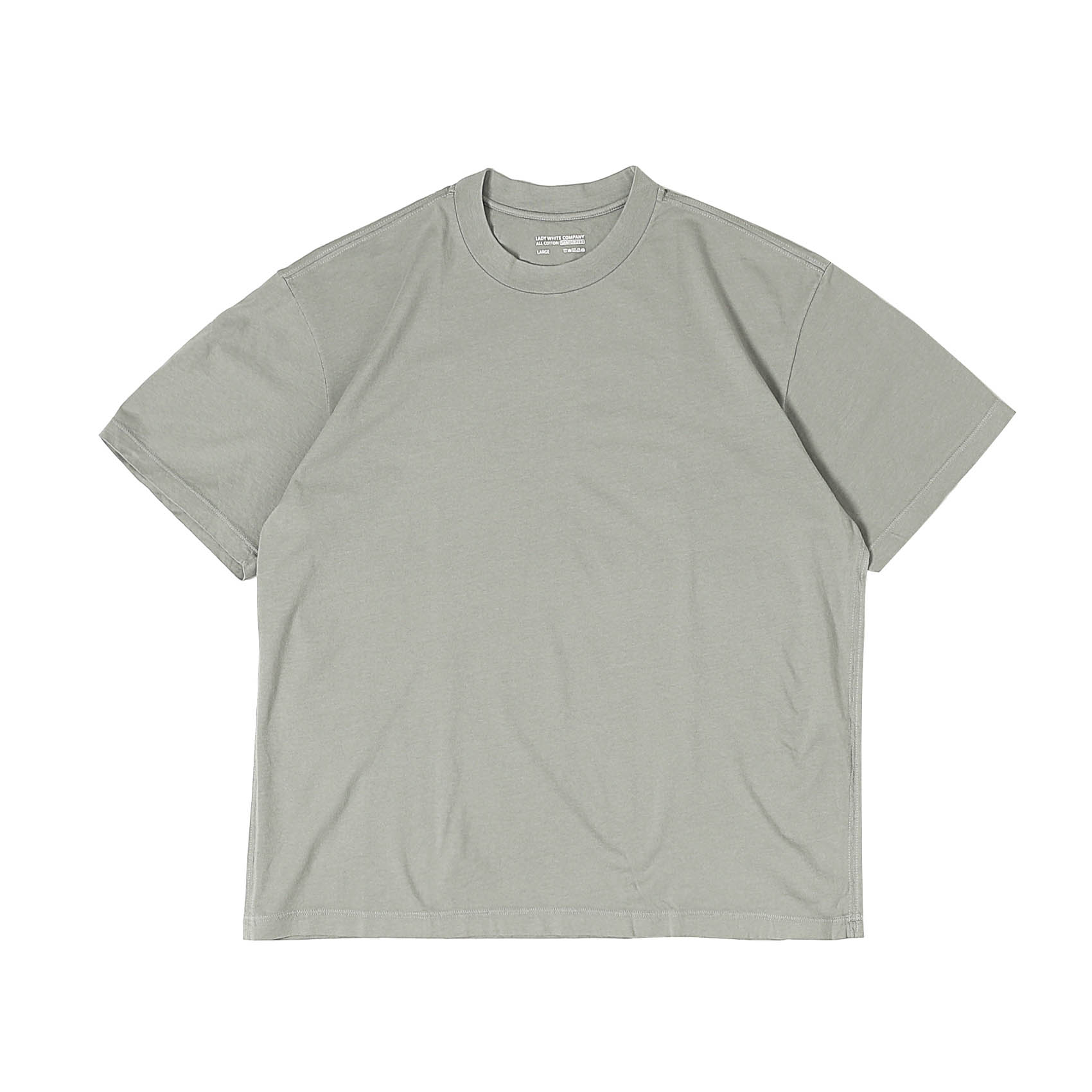 ATHENS T-SHIRT - STEEL GREY