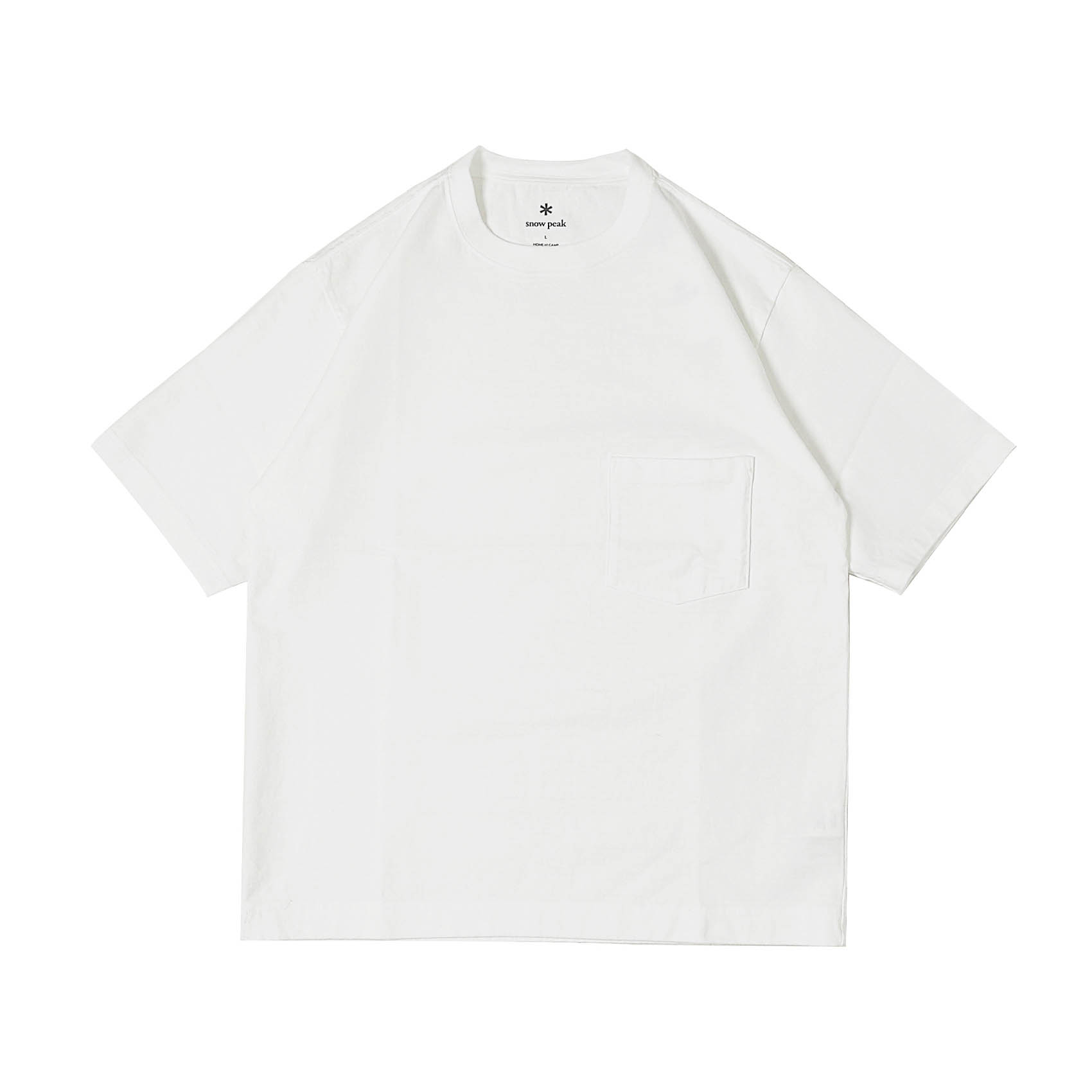 HEAVY COTTON TSHIRT - WHITE