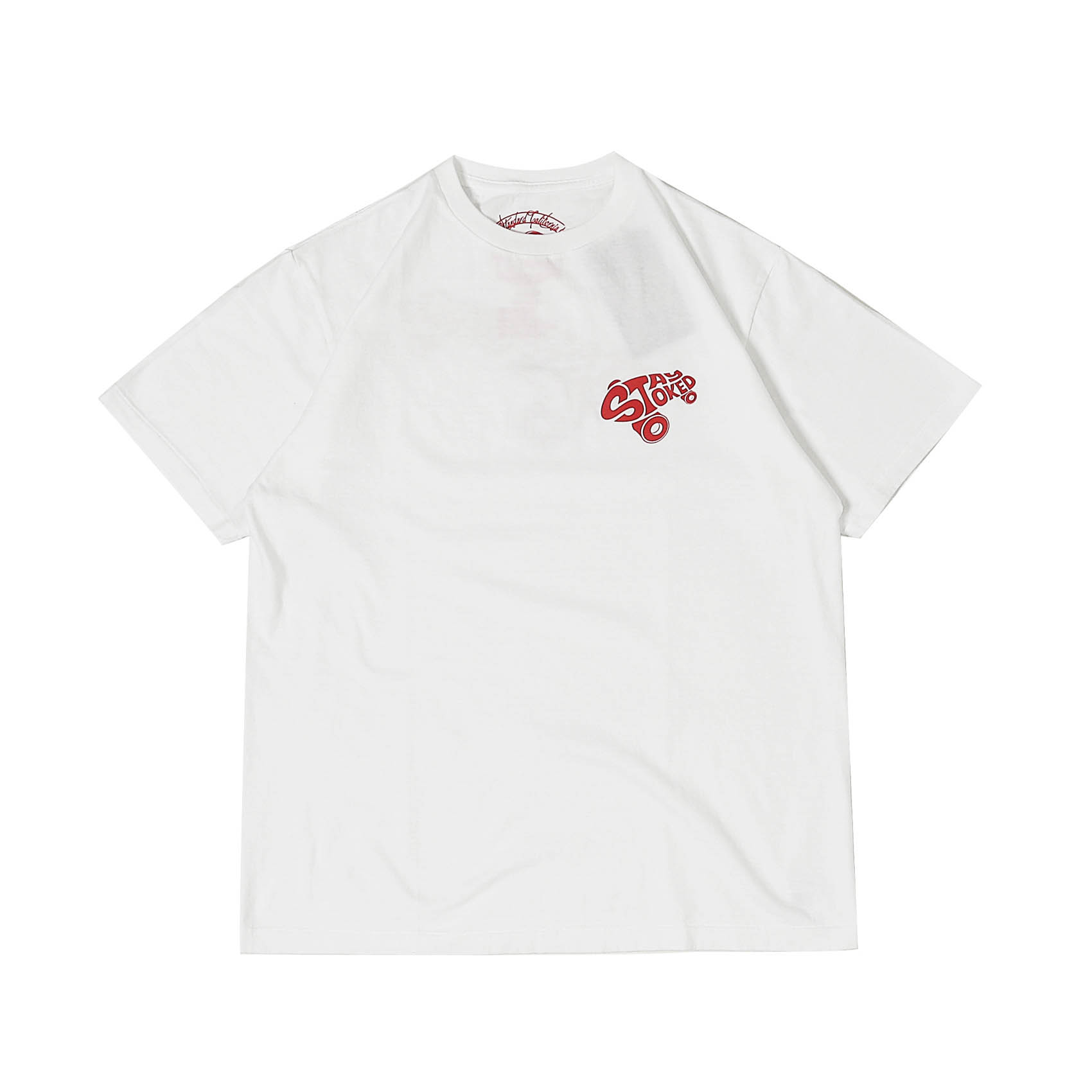 STAY STOKED TEE - WHITE