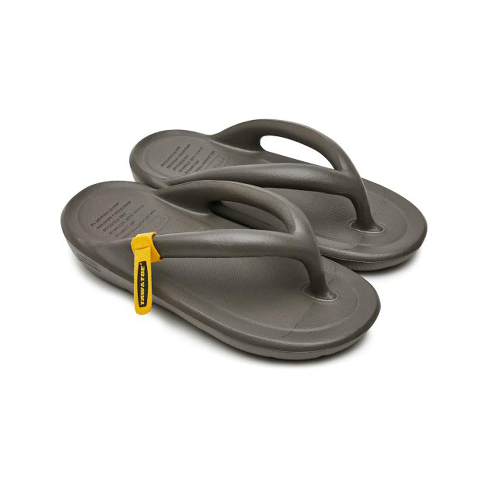 ZEROVITY FLIP FLOP - CHARCOAL 2.0
