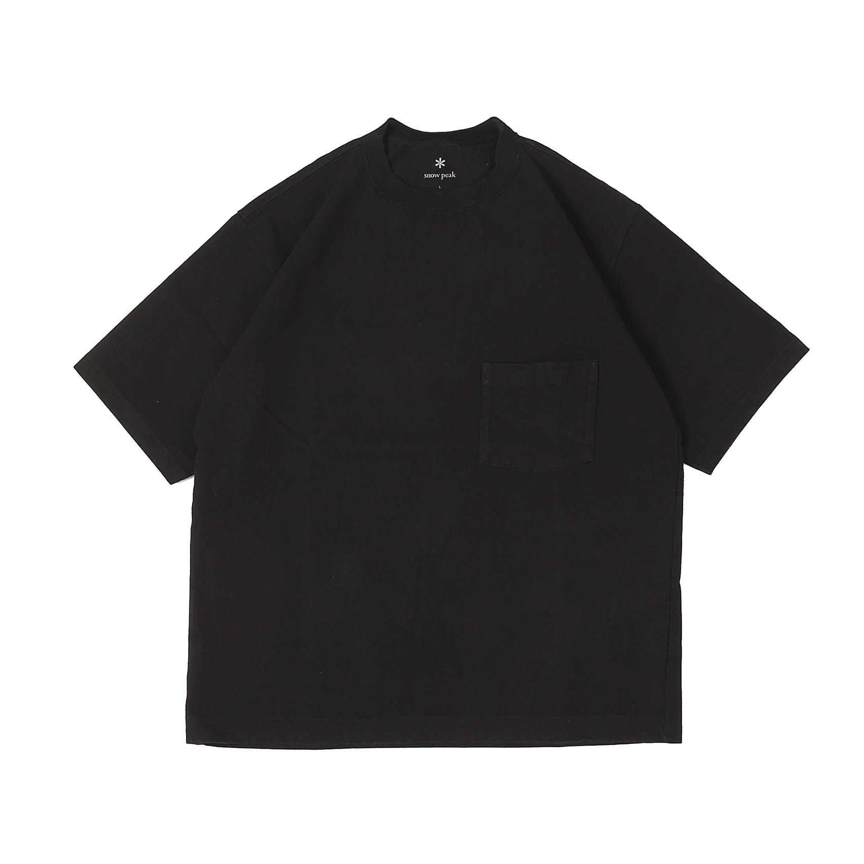 HEAVY COTTON TSHIRT - BLACK