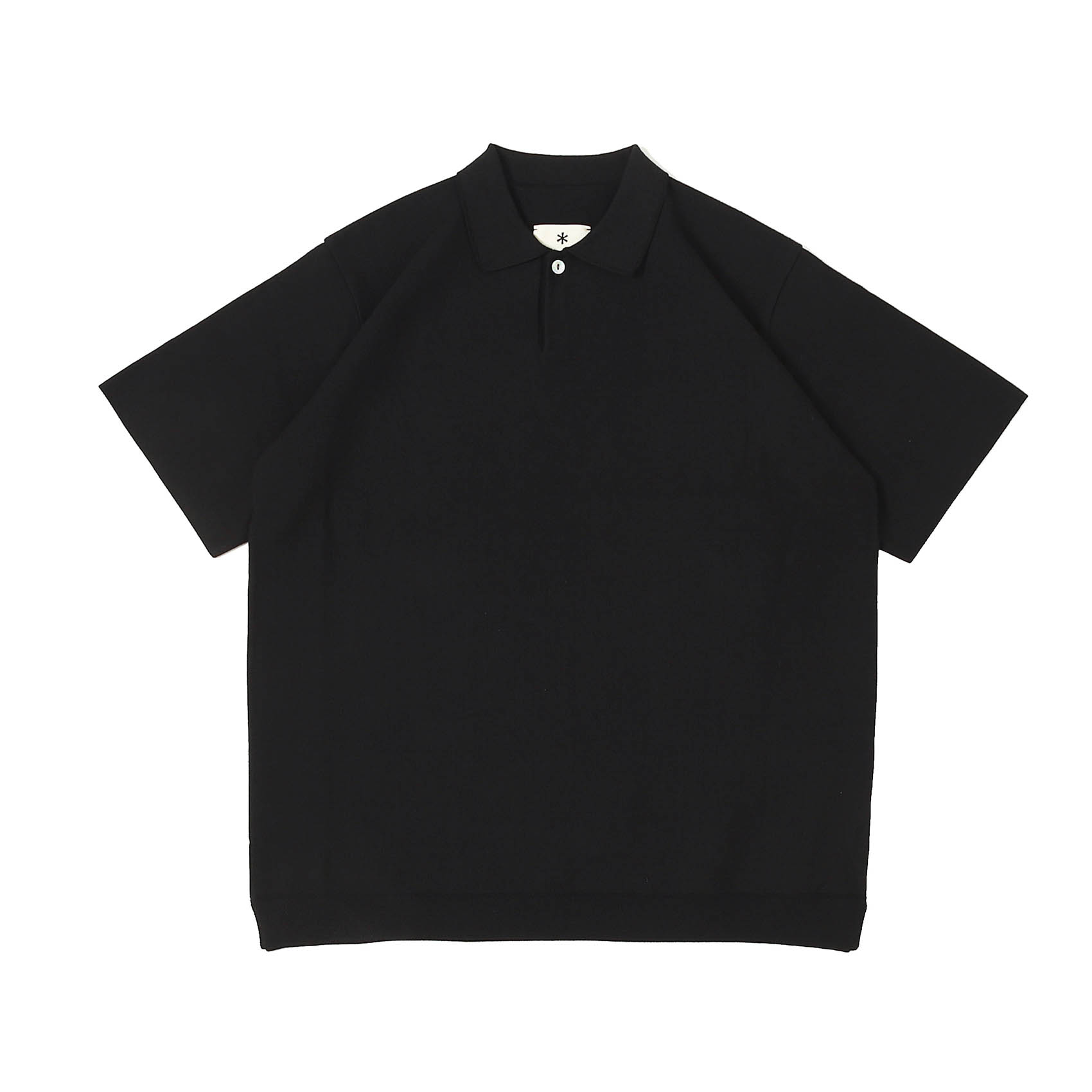CO/PE DRY POLO SHIRT - BLACK
