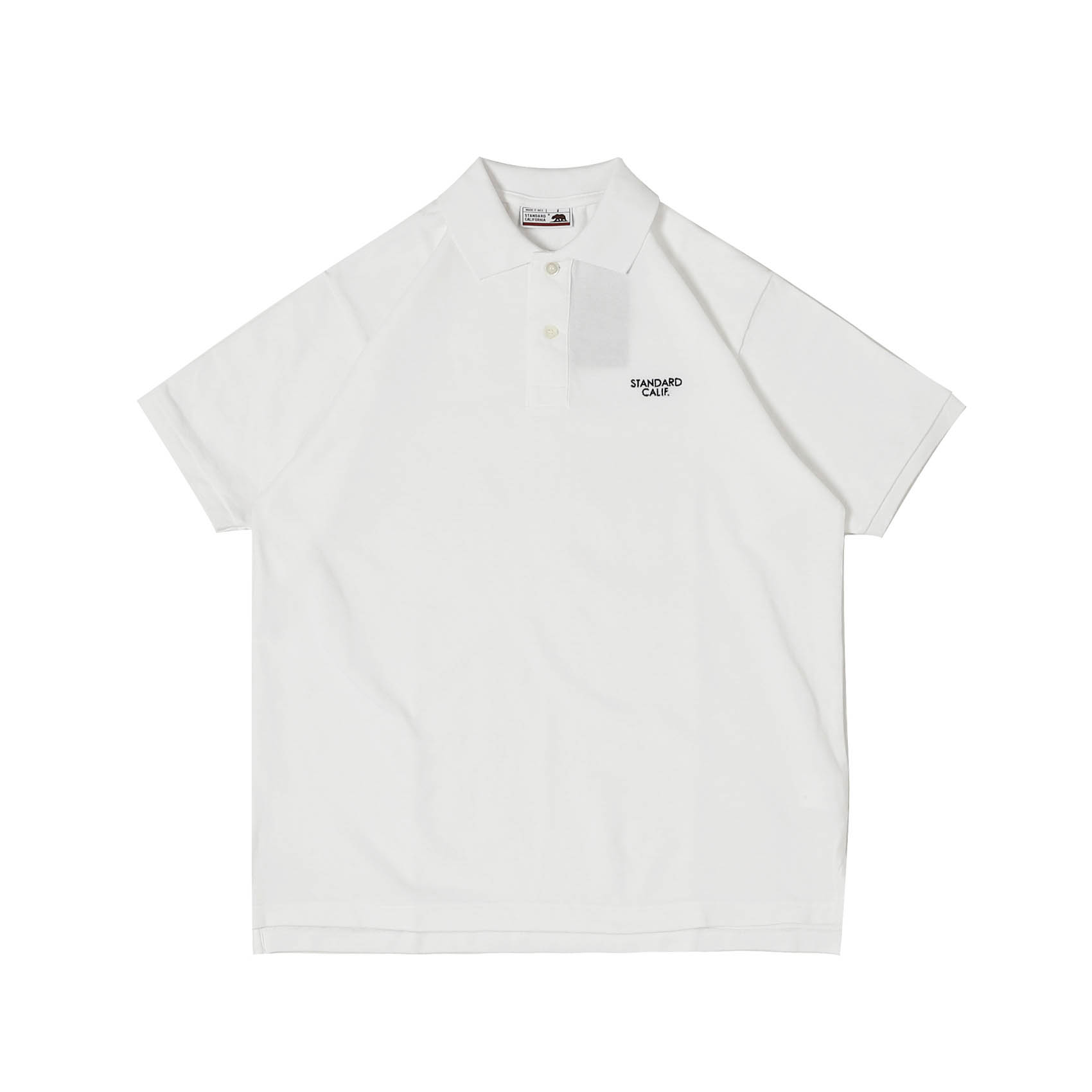 LOGO POLO SHIRT - WHITE