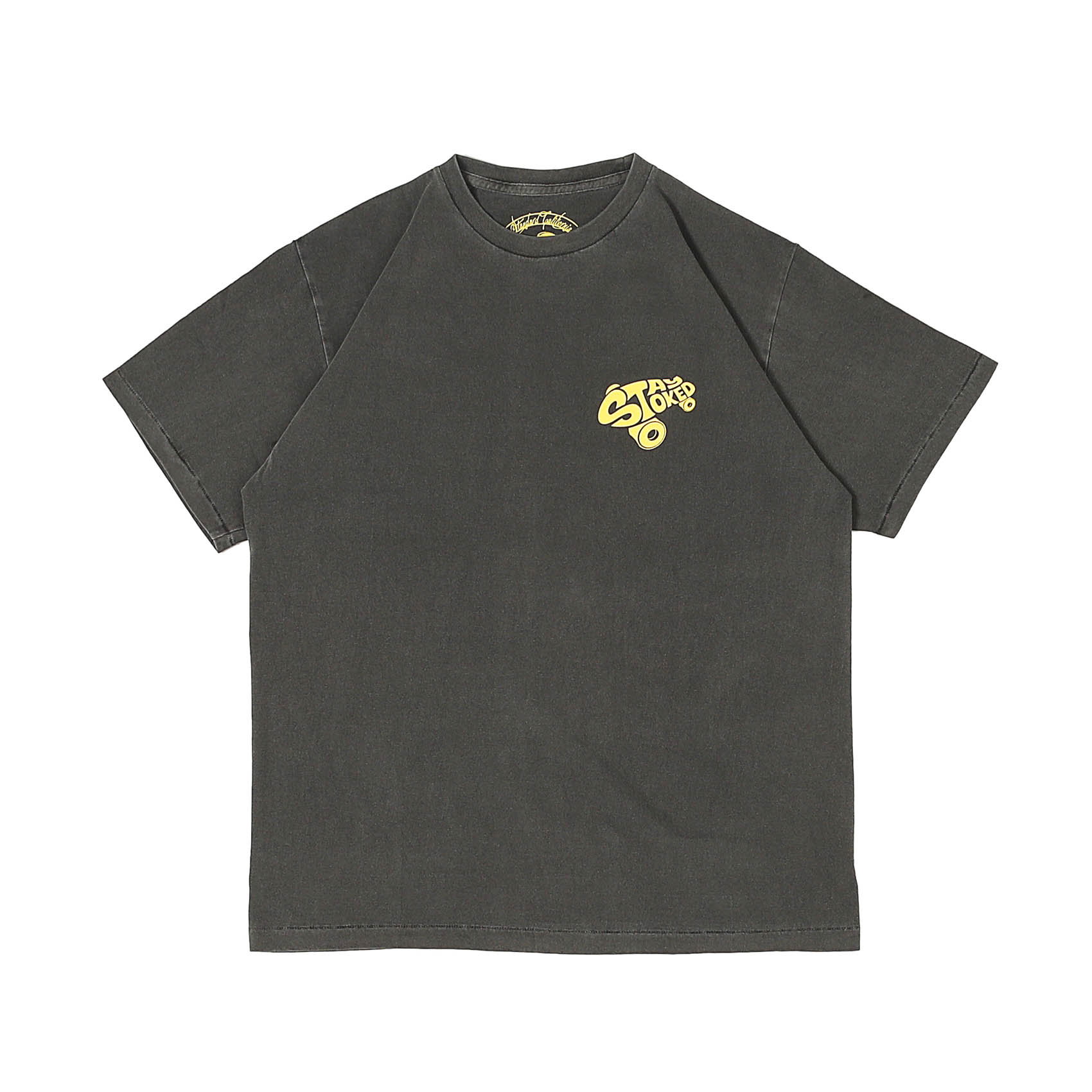 STAY STOKED TEE - BLACK