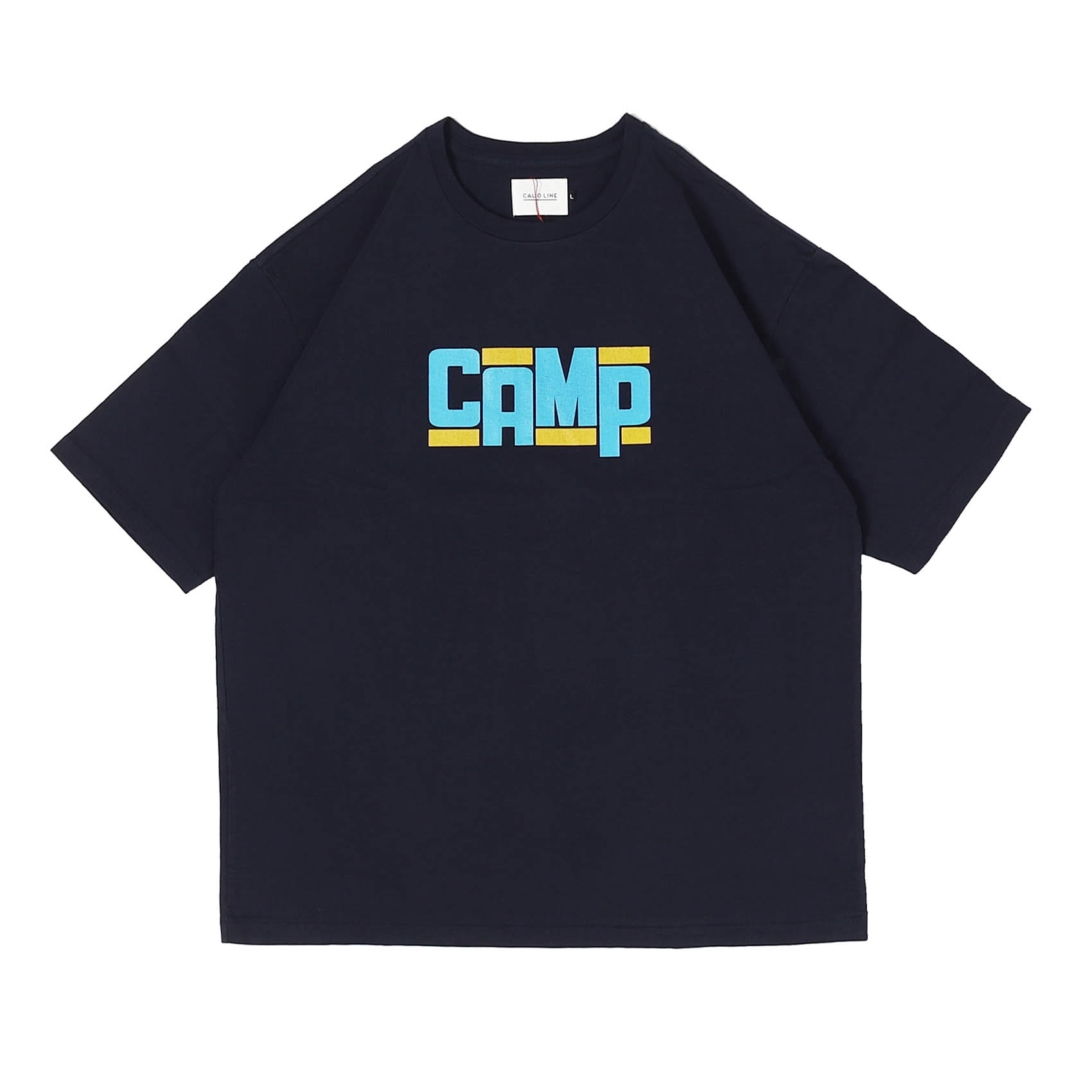 CAMP T-SHIRT - NAVY