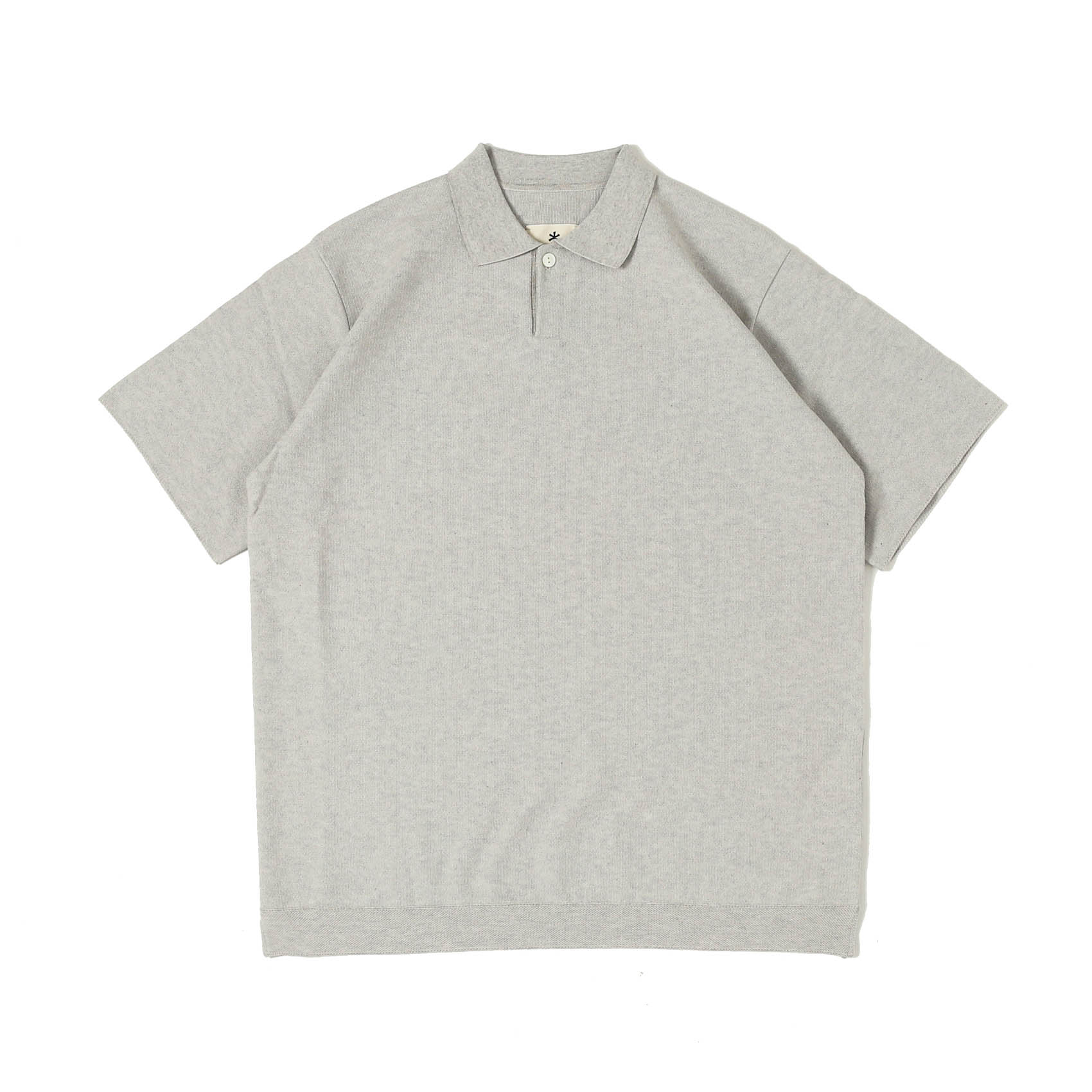 CO/PE DRY POLO SHIRT - GREY