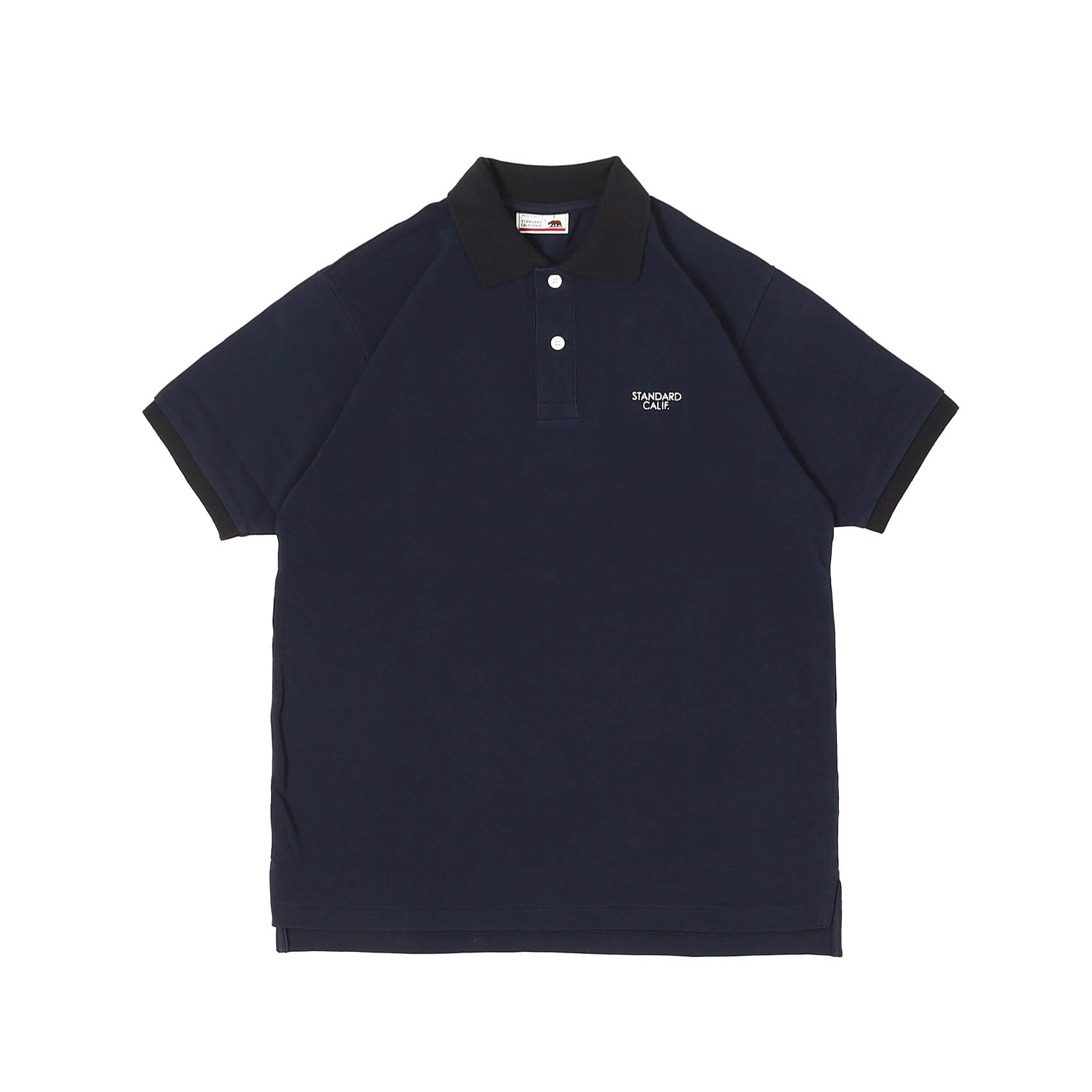LOGO POLO SHIRT - NAVY